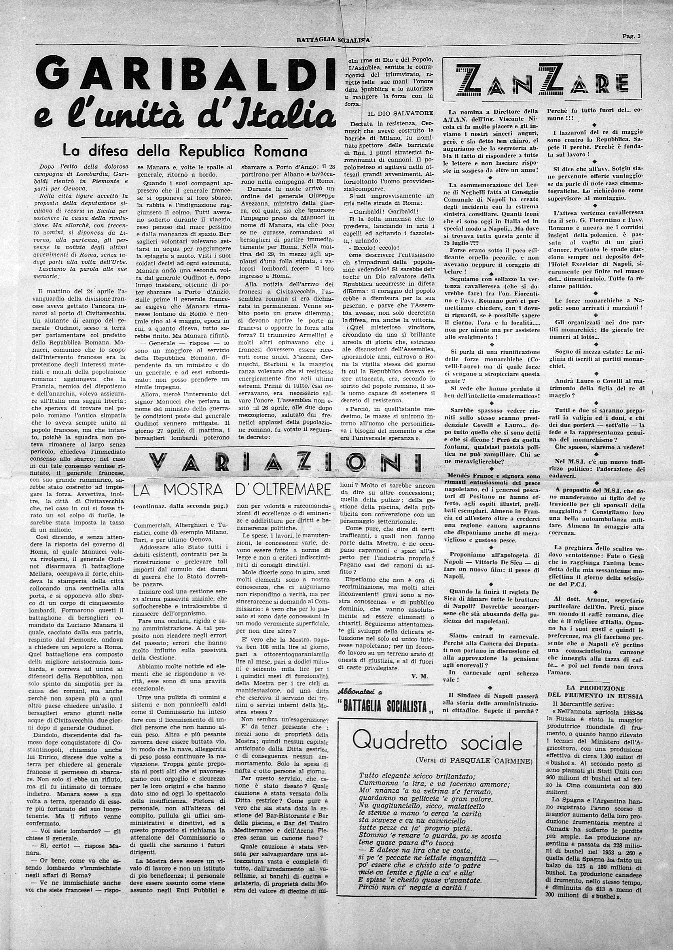 Battaglia Socialista anno III num. 1 - pag. 3