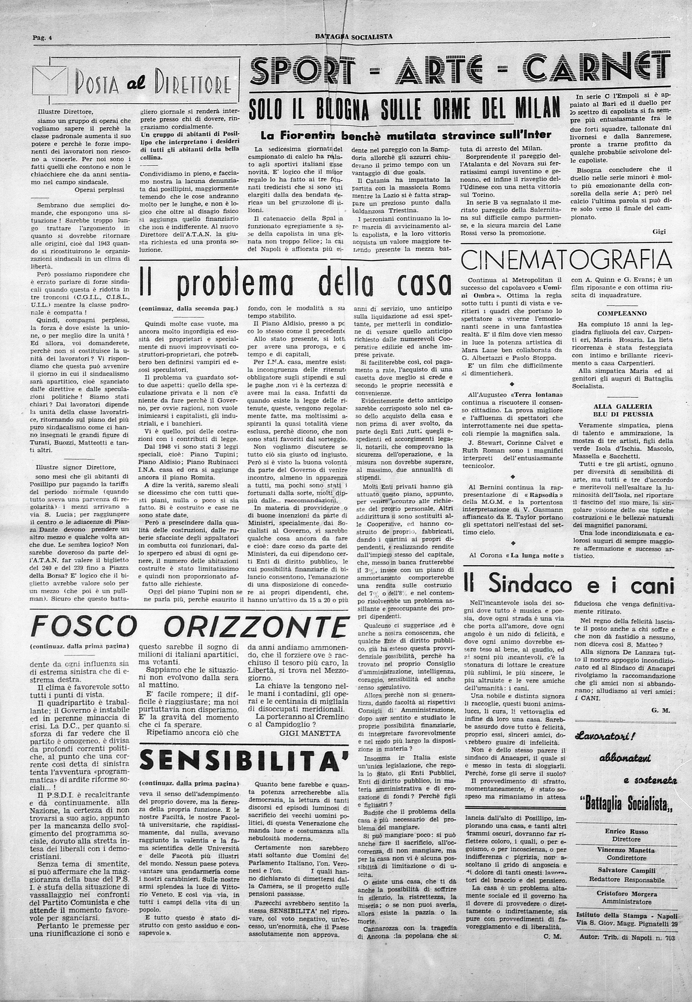 Battaglia Socialista anno III num. 1 - pag. 4