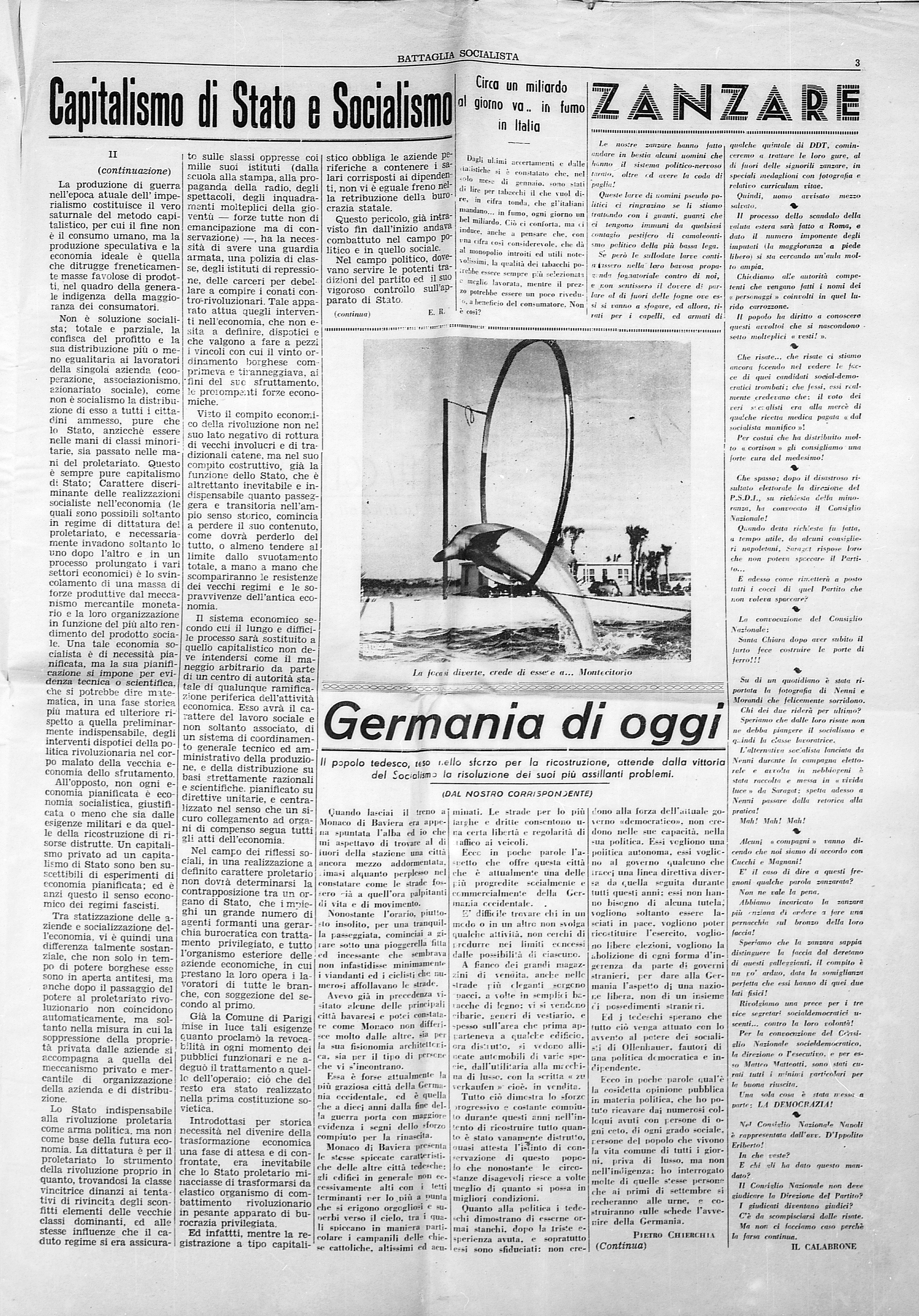 Battaglia Socialista luglio 1953 - pag. 03