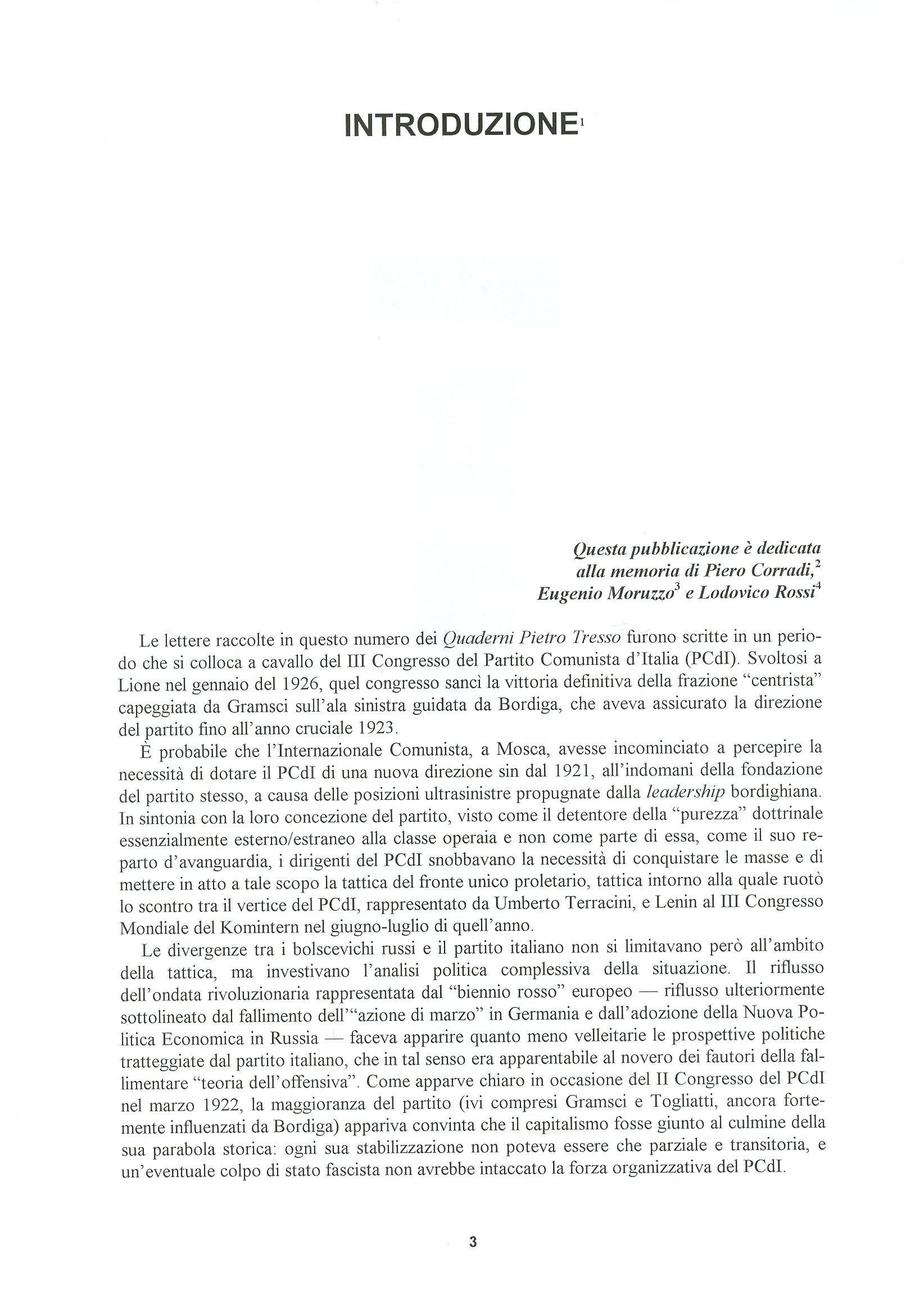 Quaderni del Centro Studi Pietro Tresso (1996-2009) n. 14 (novembre 1998) - pag. 4