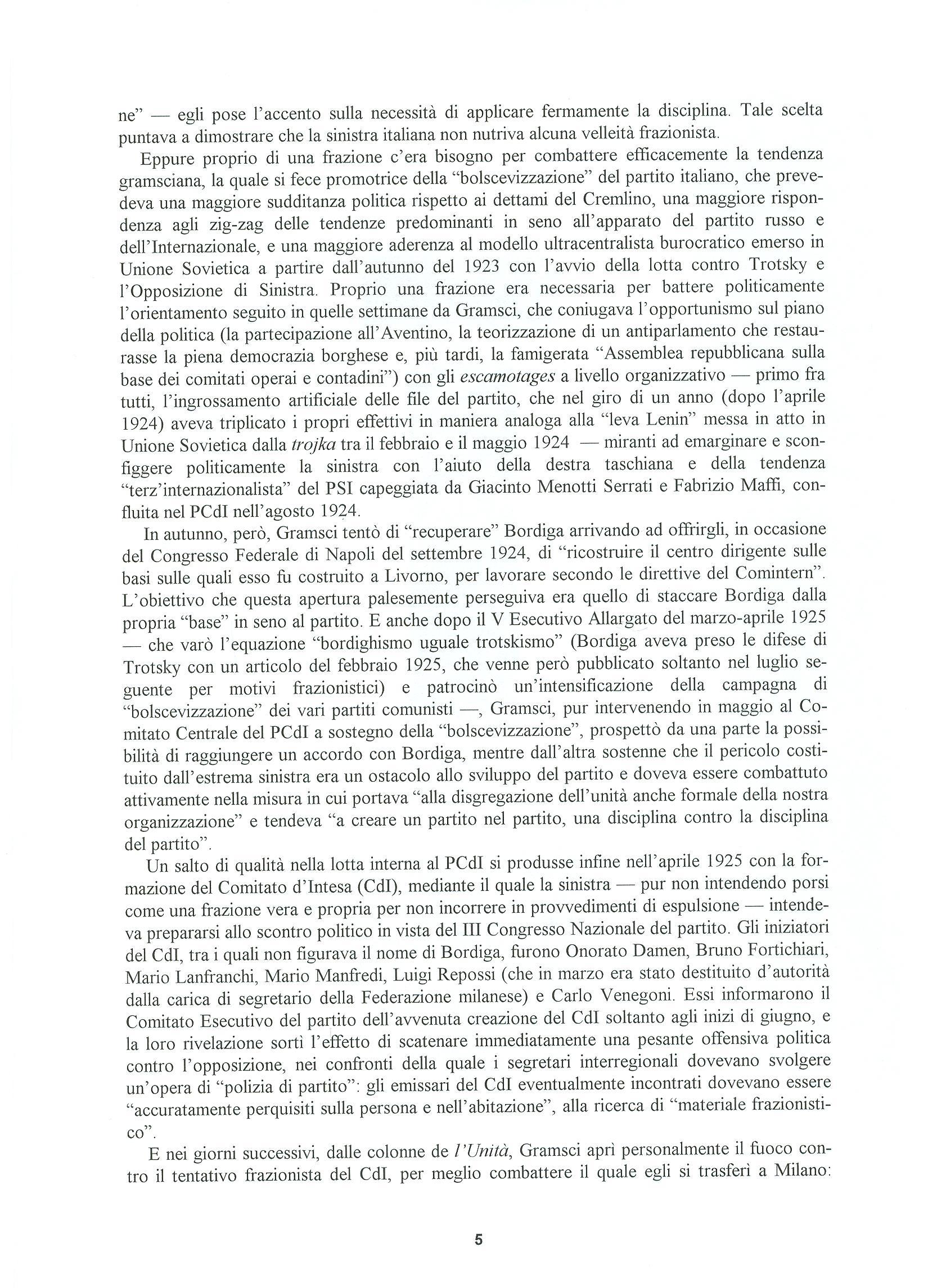 Quaderni del Centro Studi Pietro Tresso (1996-2009) n. 14 (novembre 1998) - pag. 6