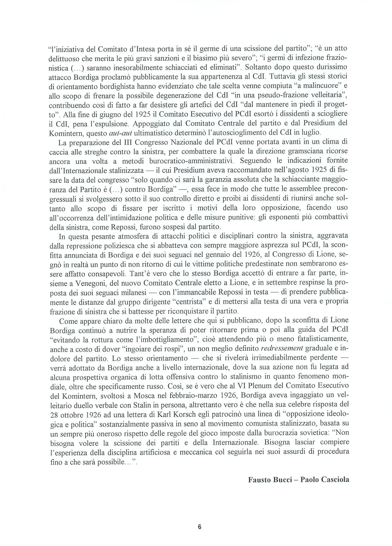 Quaderni del Centro Studi Pietro Tresso (1996-2009) n. 14 (novembre 1998) - pag. 7
