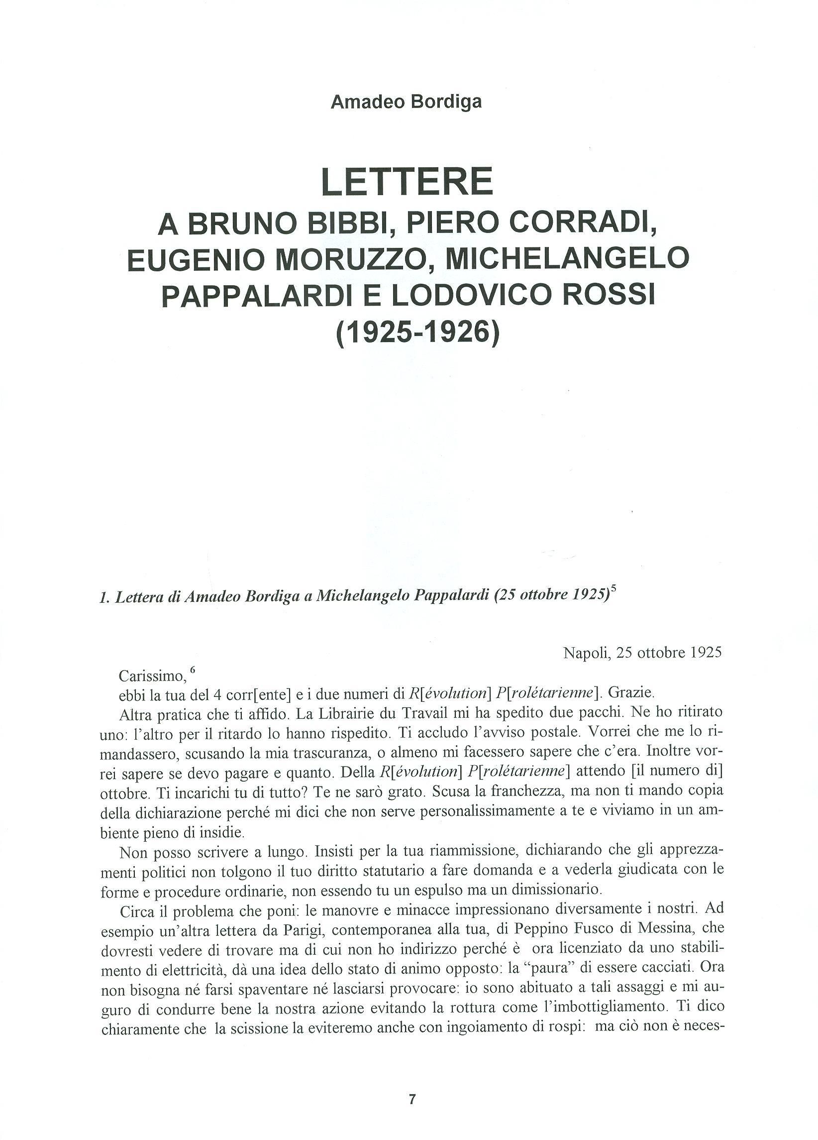 Quaderni del Centro Studi Pietro Tresso (1996-2009) n. 14 (novembre 1998) - pag. 8