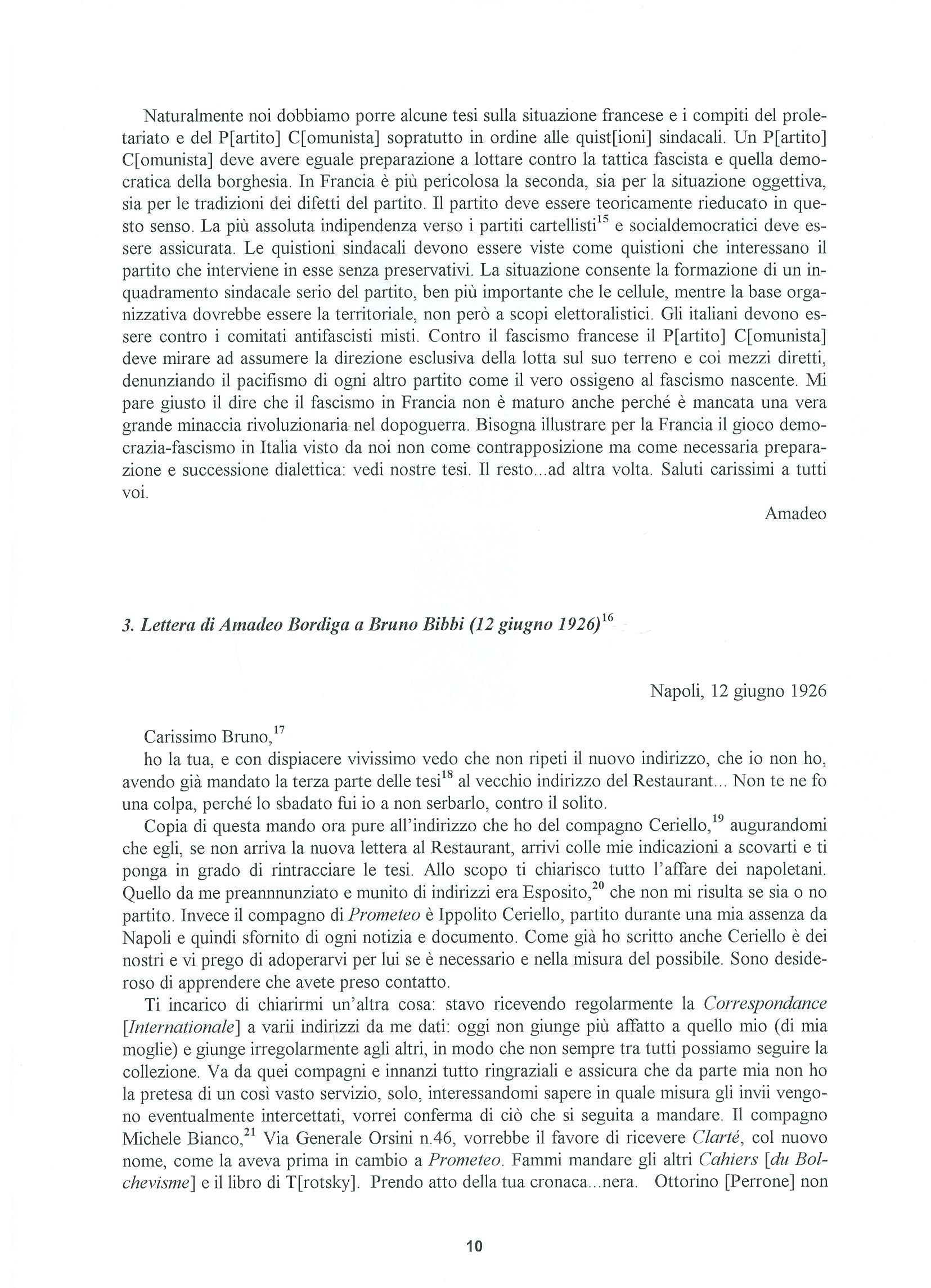 Quaderni del Centro Studi Pietro Tresso (1996-2009) n. 14 (novembre 1998) - pag. 11