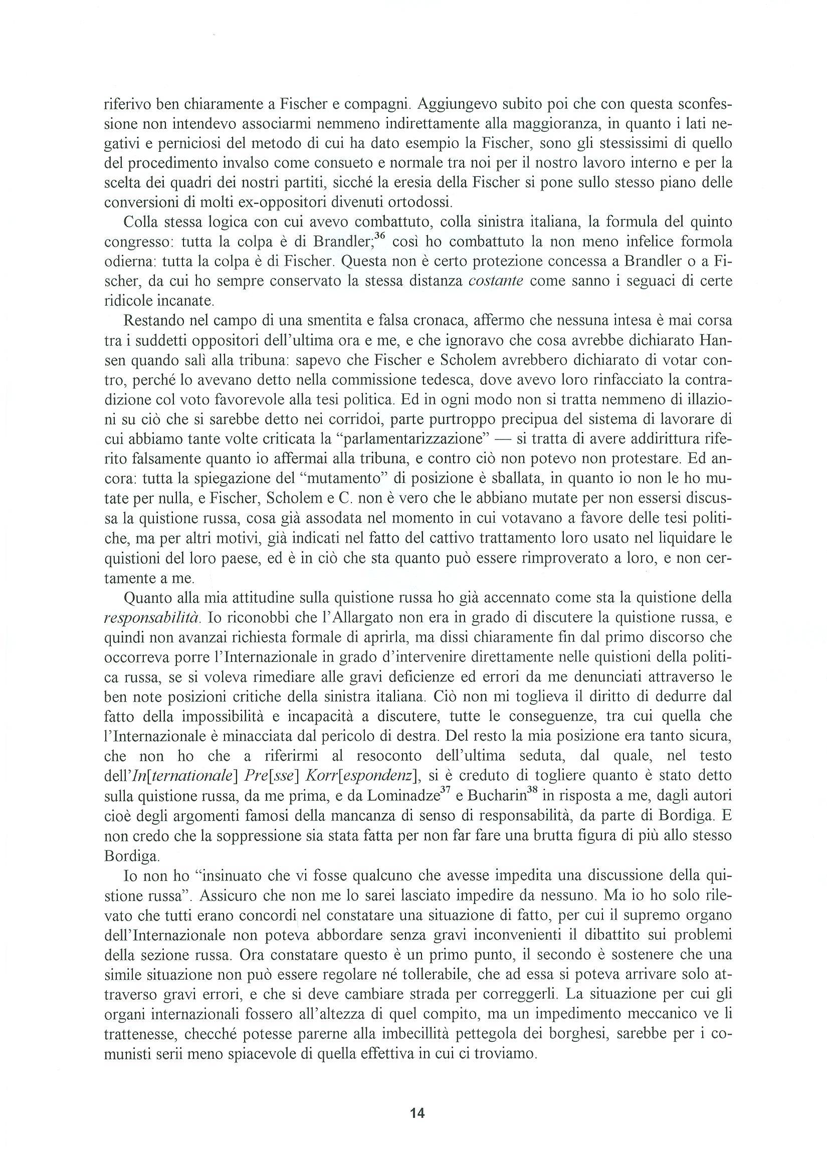 Quaderni del Centro Studi Pietro Tresso (1996-2009) n. 14 (novembre 1998) - pag. 15