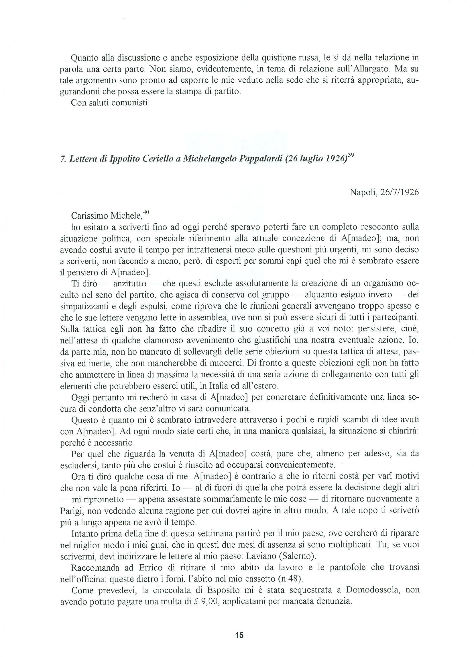 Quaderni del Centro Studi Pietro Tresso (1996-2009) n. 14 (novembre 1998) - pag. 16