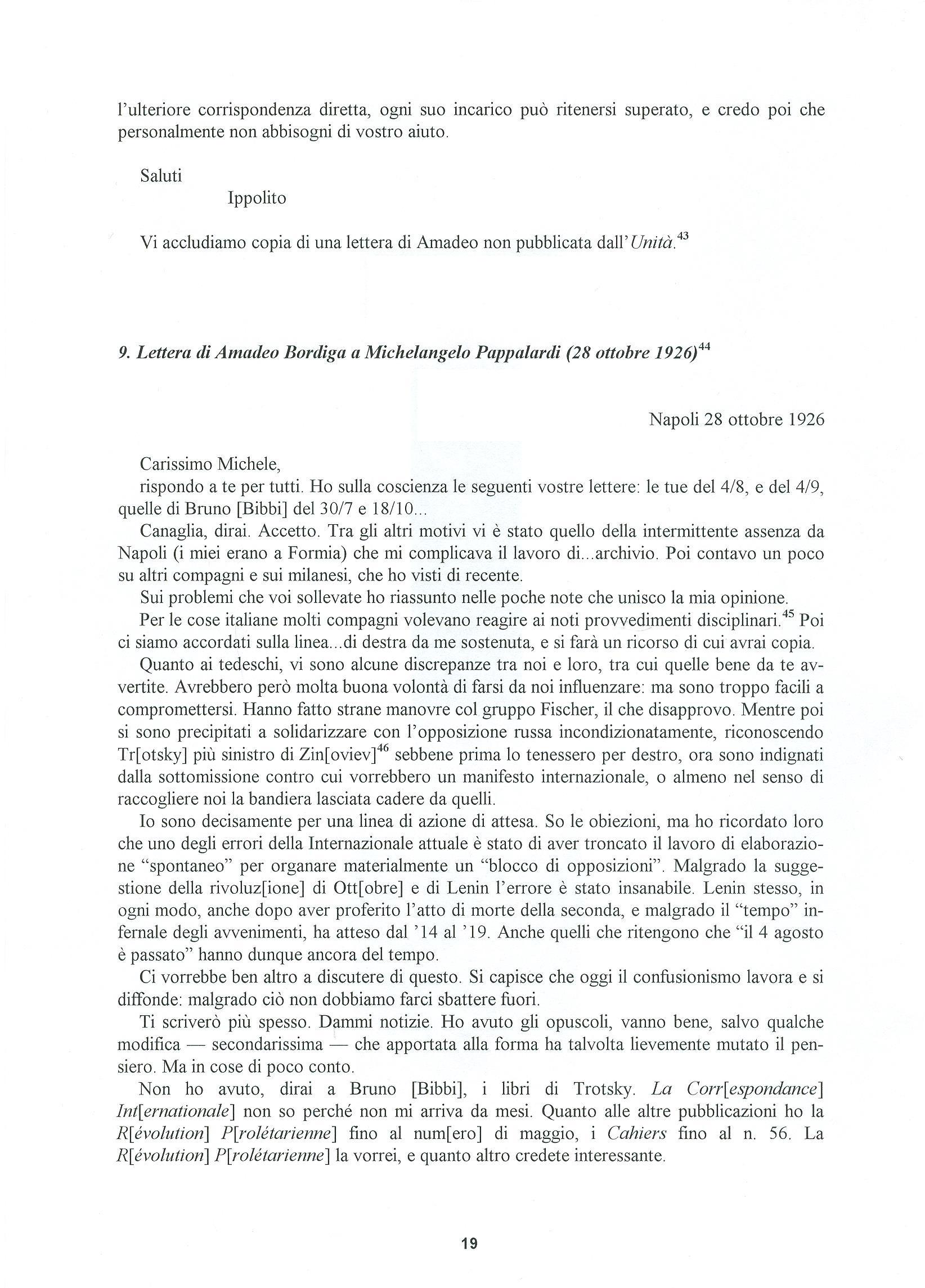 Quaderni del Centro Studi Pietro Tresso (1996-2009) n. 14 (novembre 1998) - pag. 20