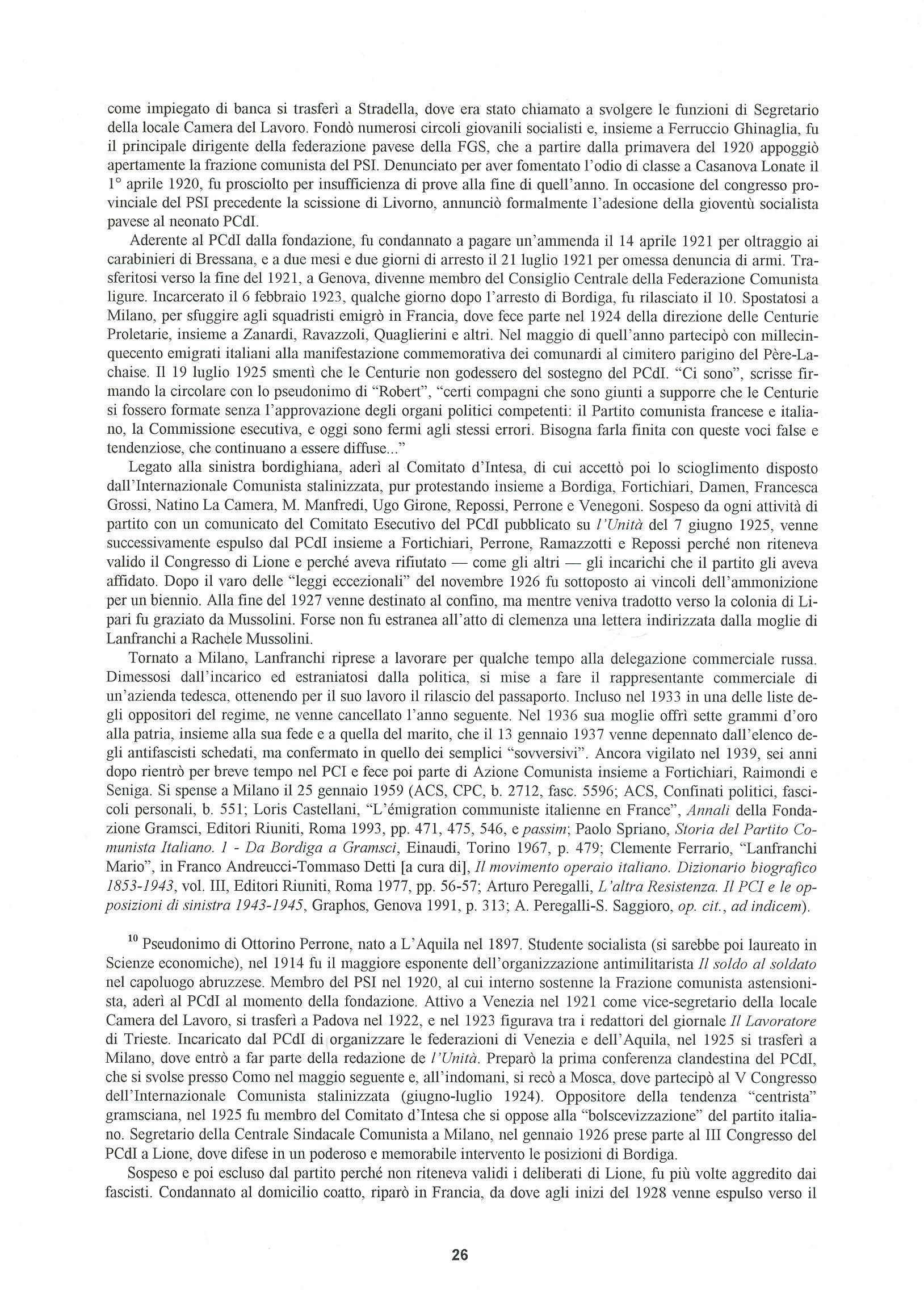Quaderni del Centro Studi Pietro Tresso (1996-2009) n. 14 (novembre 1998) - pag. 27
