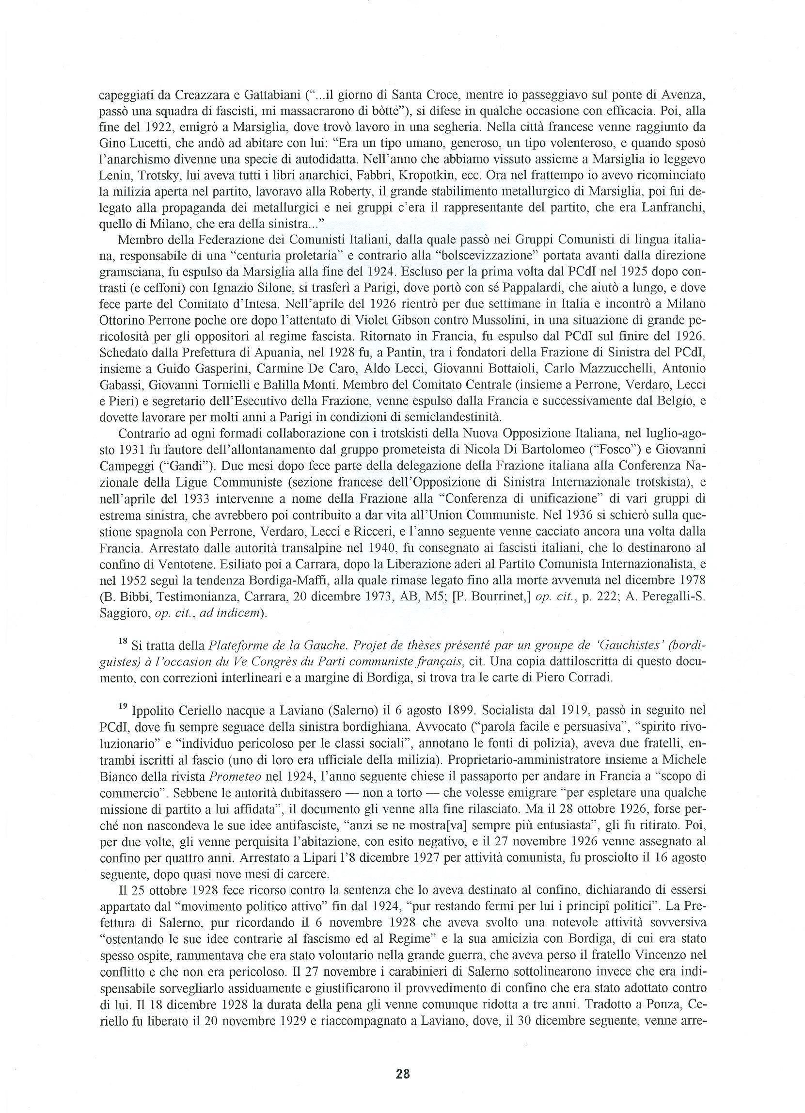 Quaderni del Centro Studi Pietro Tresso (1996-2009) n. 14 (novembre 1998) - pag. 29
