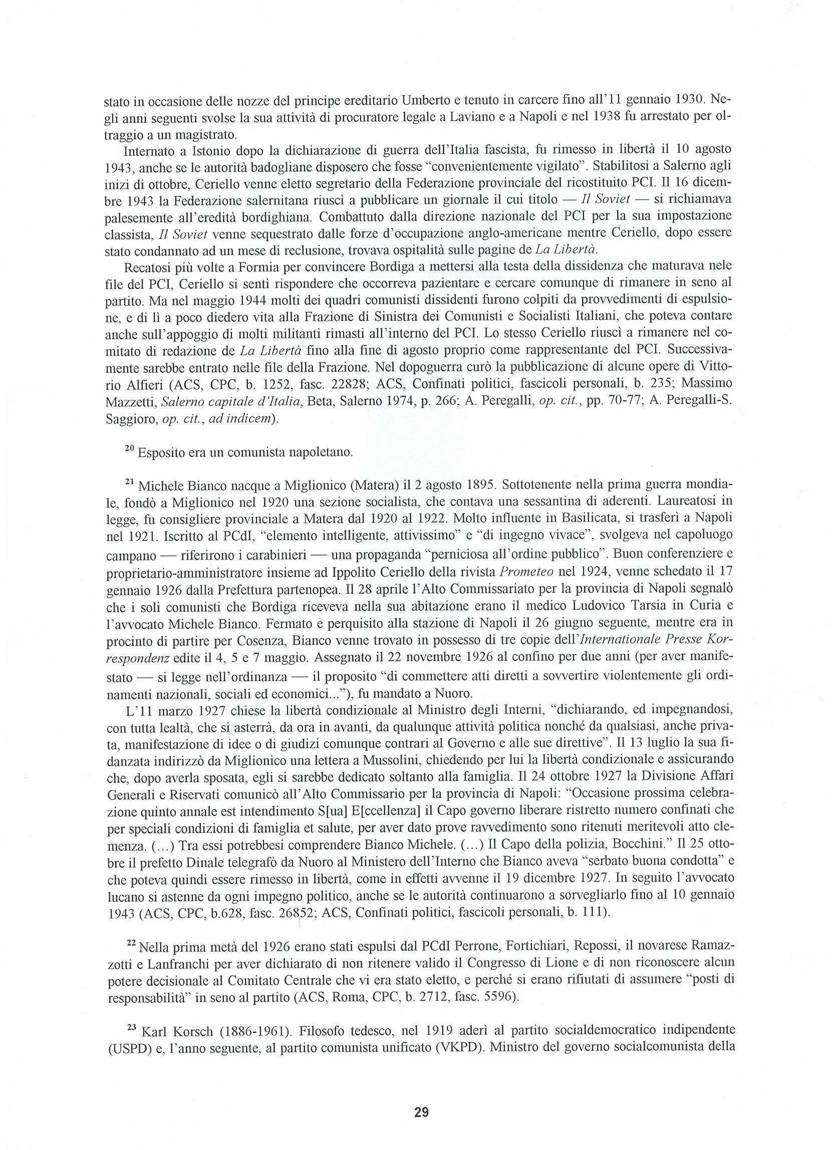 Quaderni del Centro Studi Pietro Tresso (1996-2009) n. 14 (novembre 1998) - pag. 30