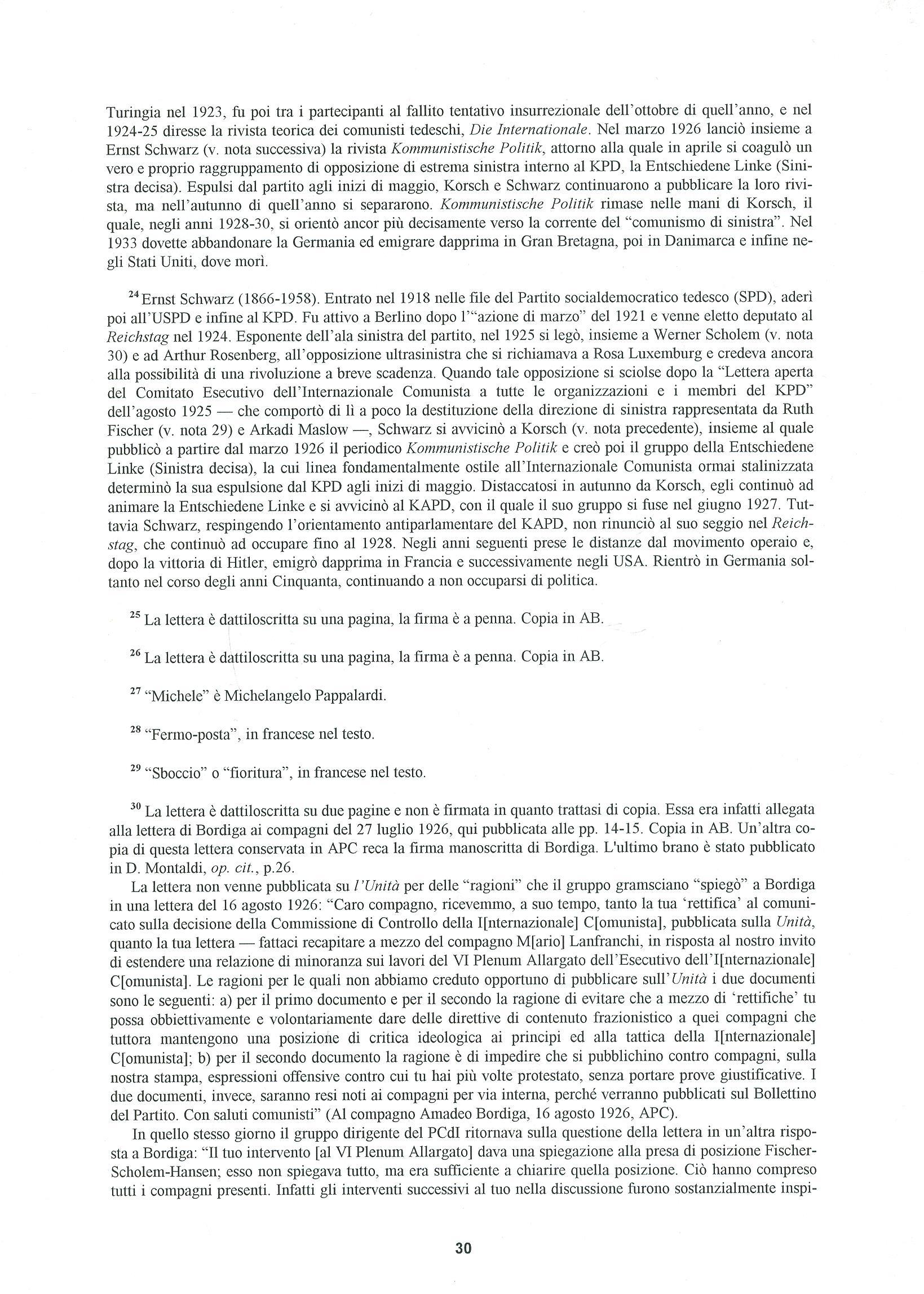Quaderni del Centro Studi Pietro Tresso (1996-2009) n. 14 (novembre 1998) - pag. 31