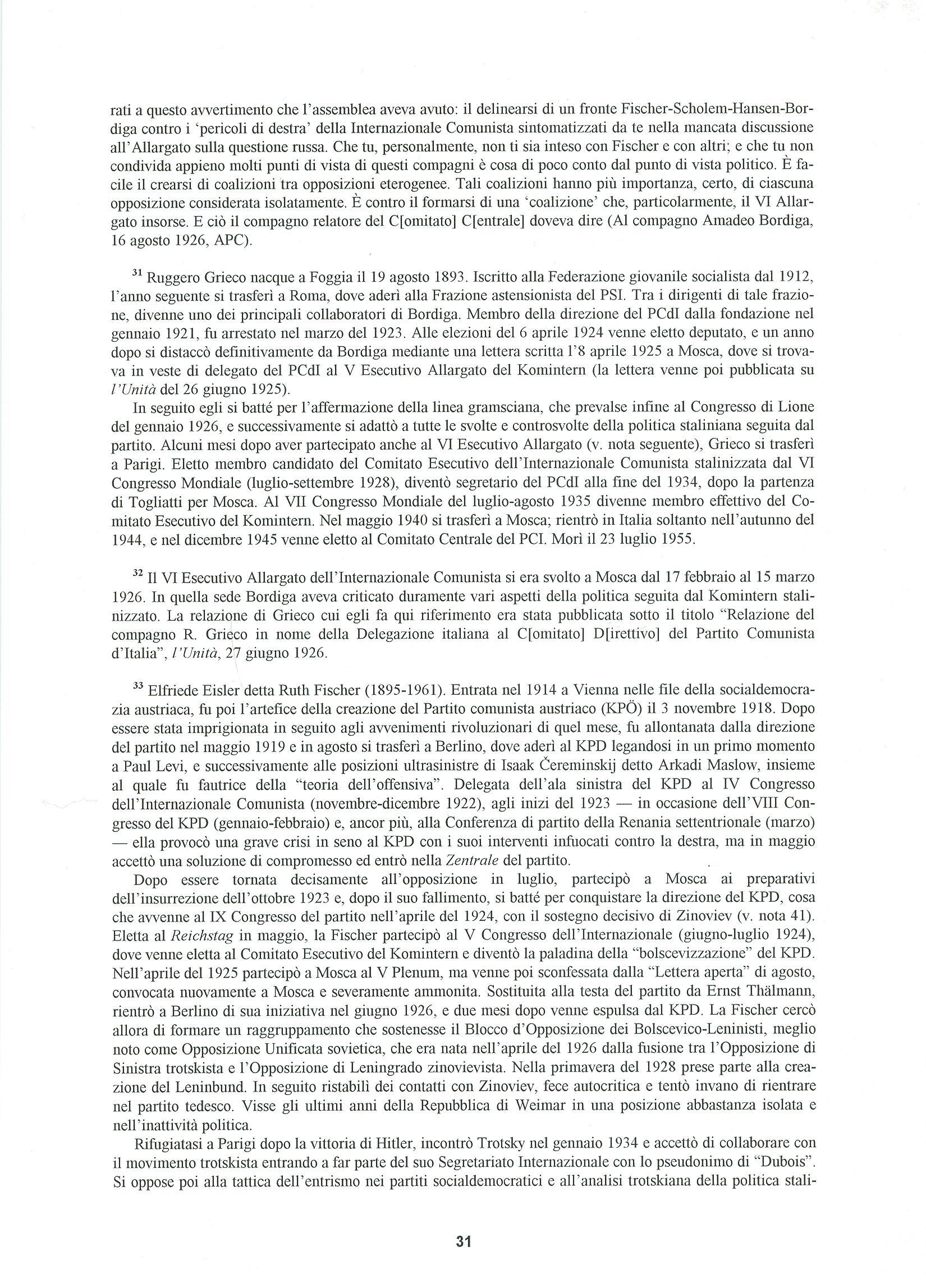 Quaderni del Centro Studi Pietro Tresso (1996-2009) n. 14 (novembre 1998) - pag. 32