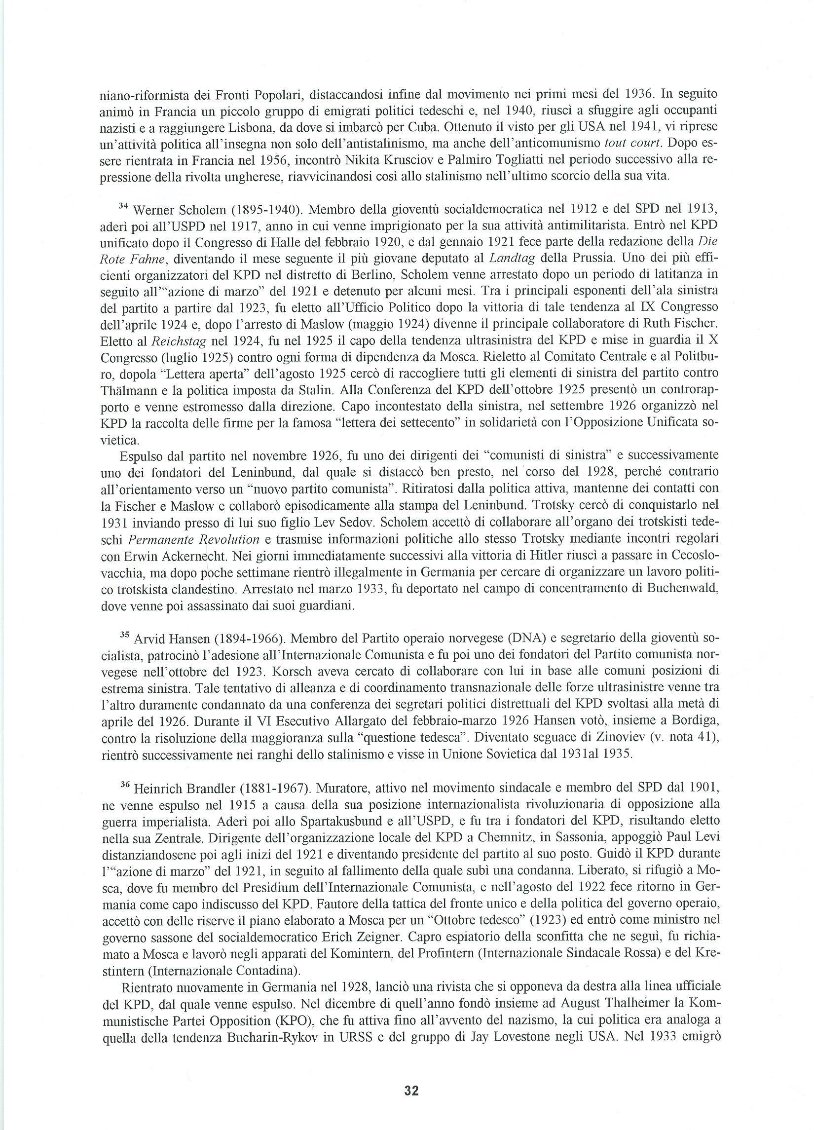 Quaderni del Centro Studi Pietro Tresso (1996-2009) n. 14 (novembre 1998) - pag. 33