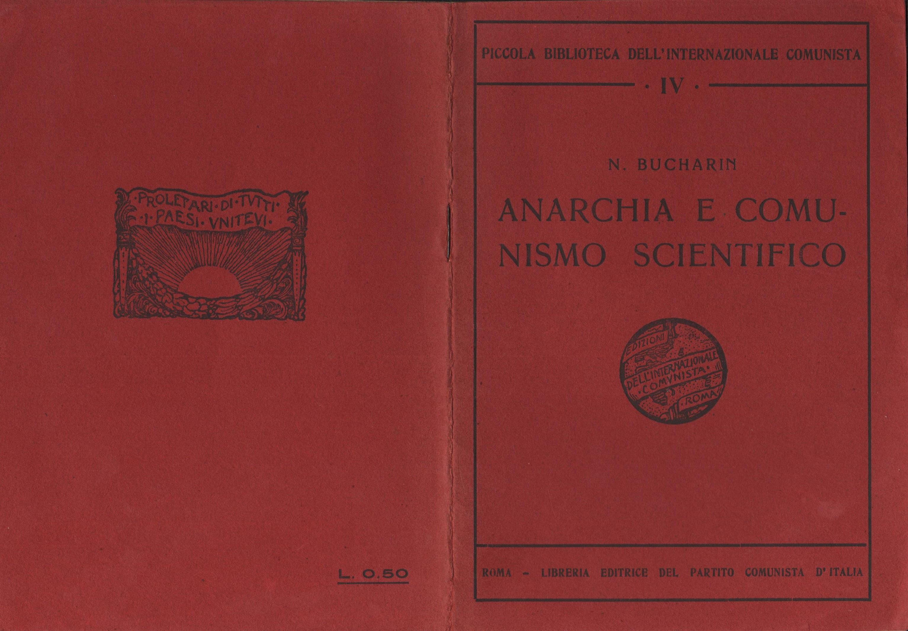 Anarchia e comunismo scientifico - Pag. 1