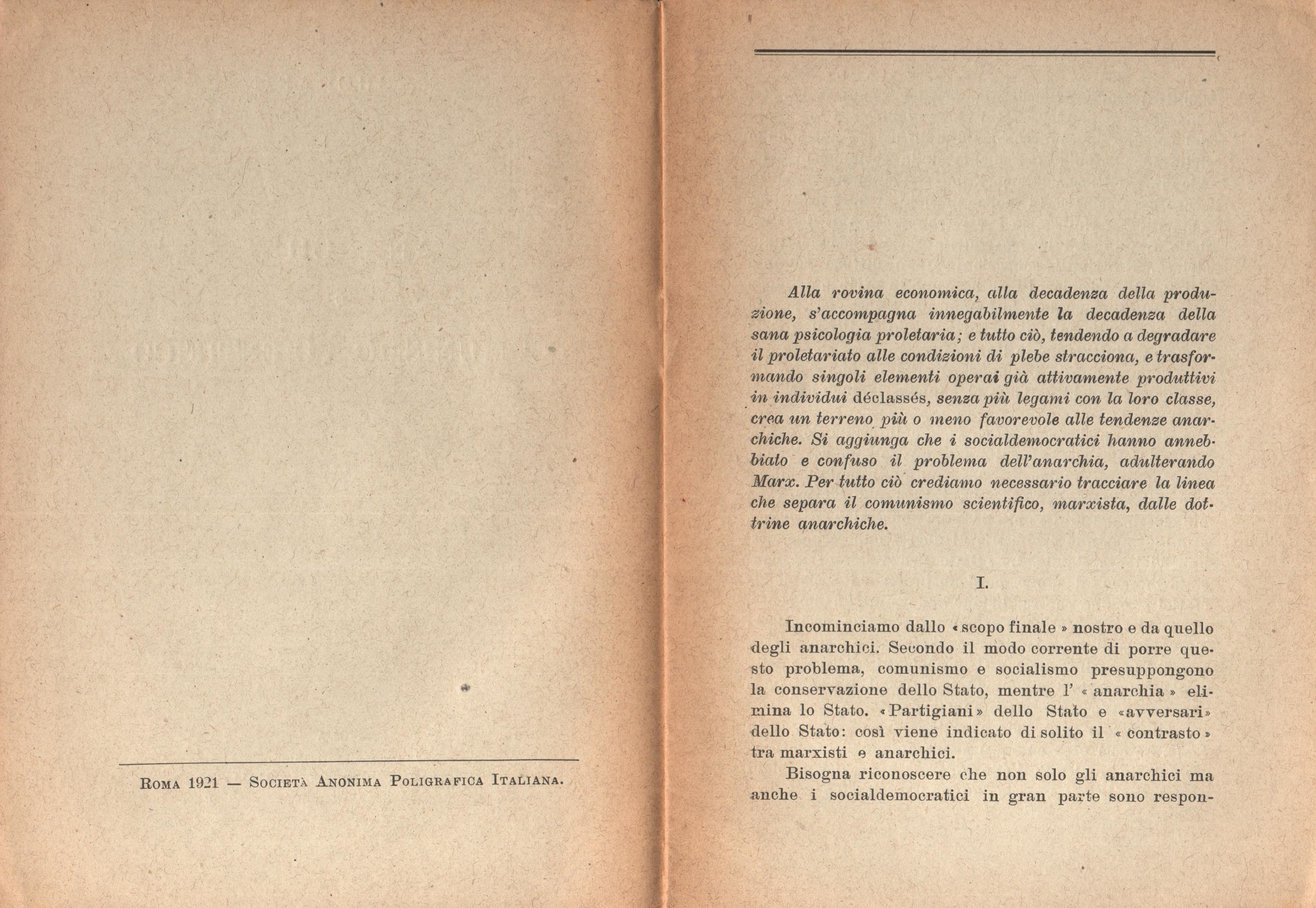 Anarchia e comunismo scientifico - Pag. 3
