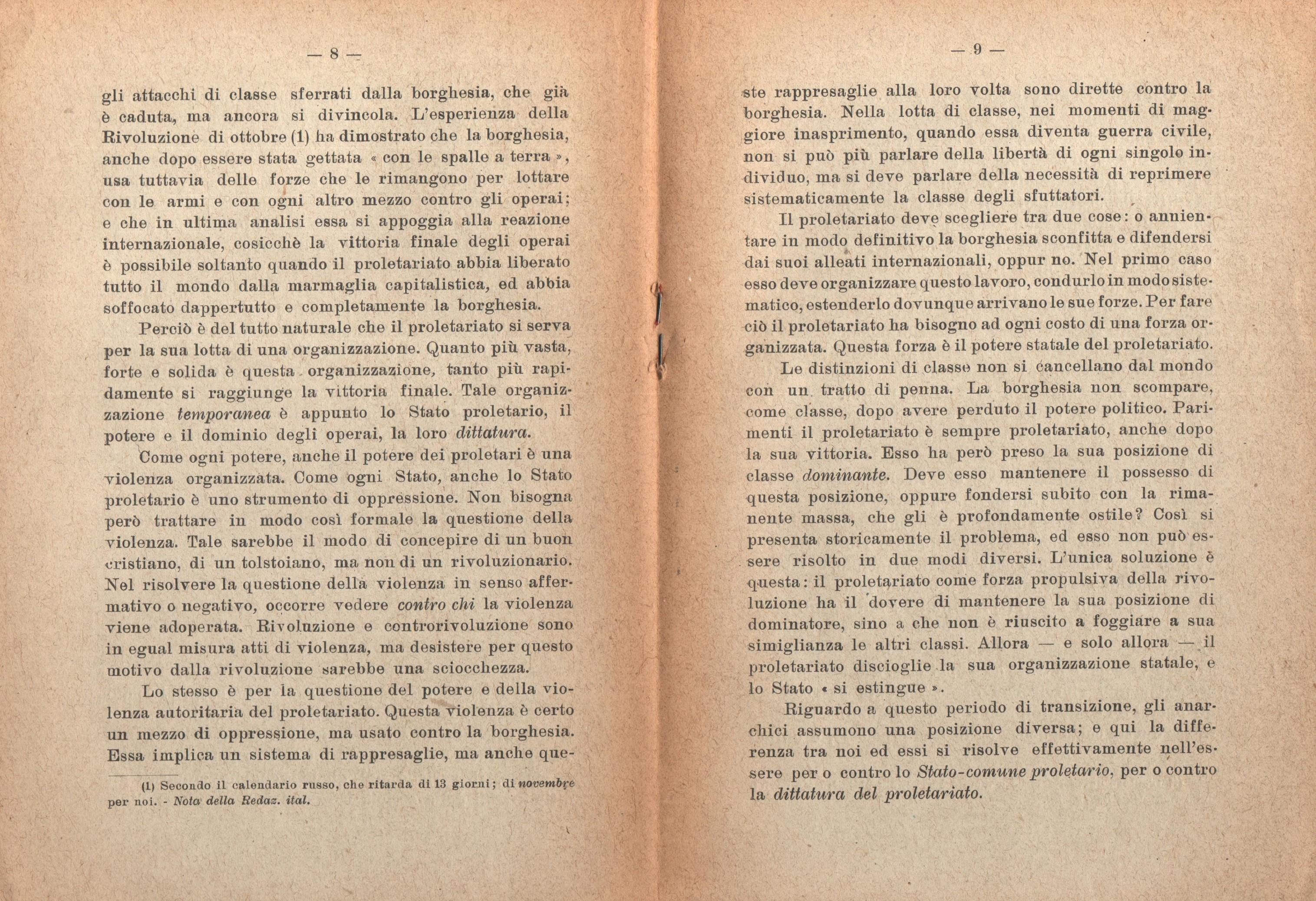 Anarchia e comunismo scientifico - Pag. 6
