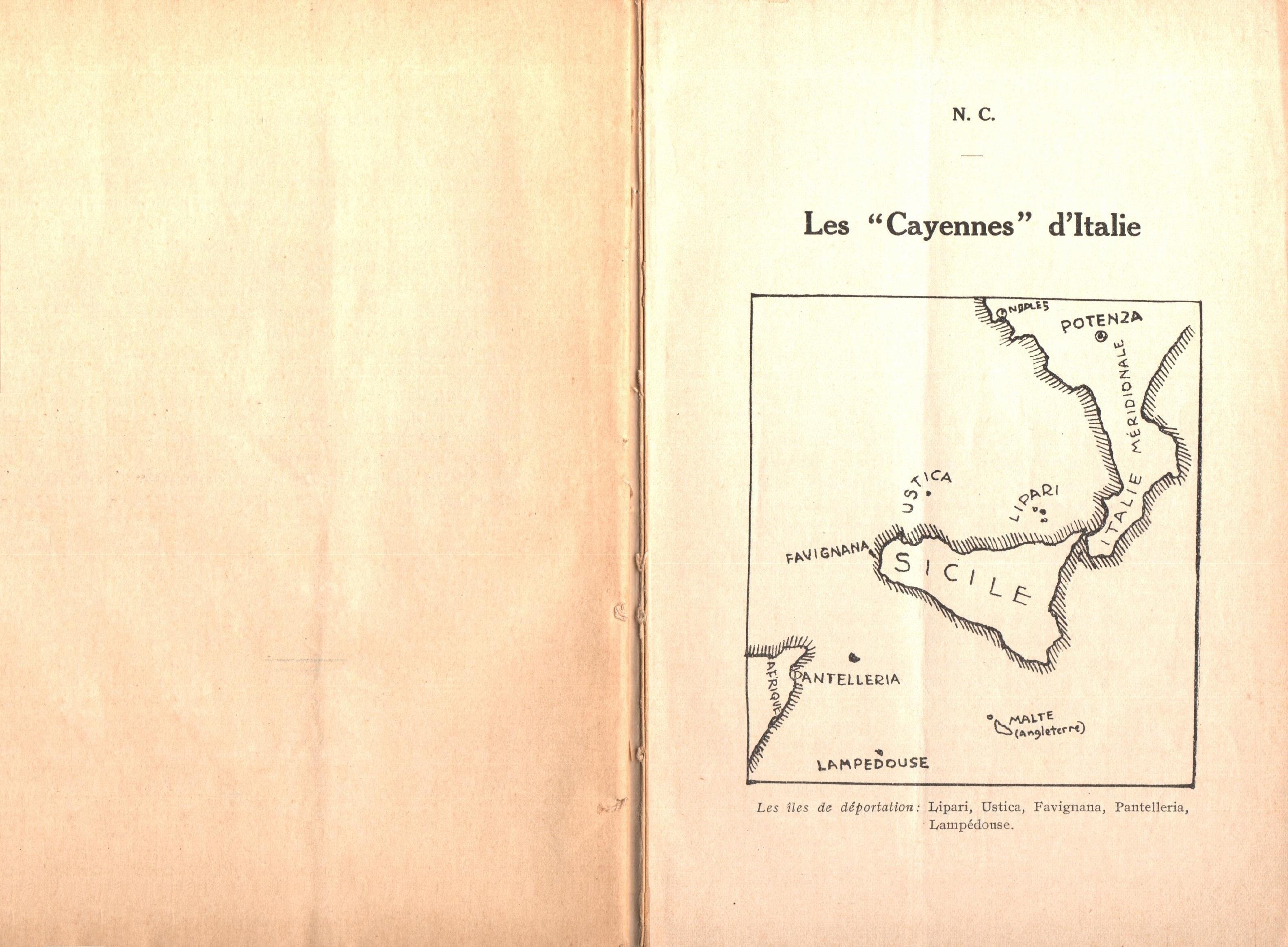 Nicola Cilla, Les «Cayennes» d'Italie - pag. 3