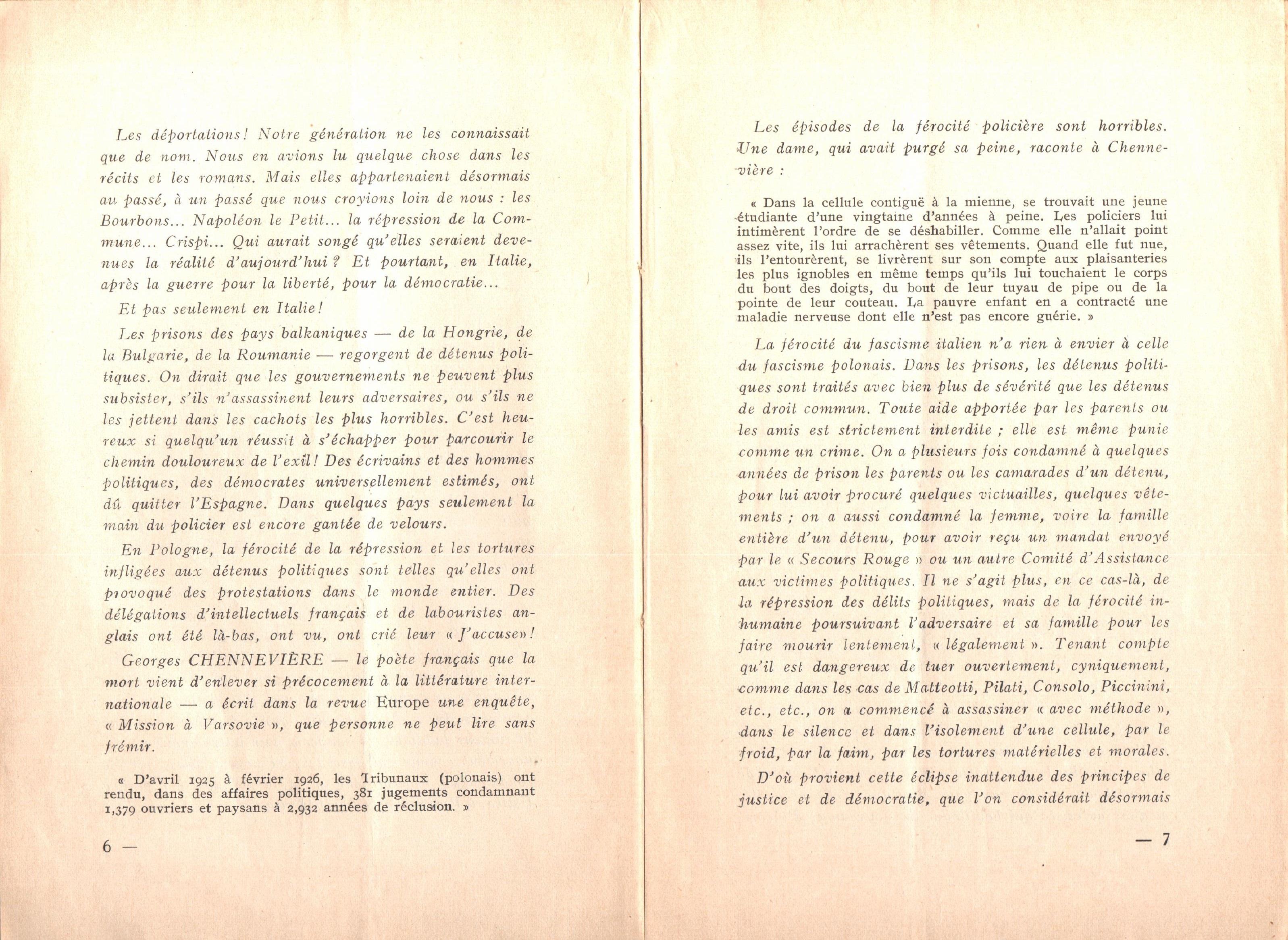 Nicola Cilla, Les «Cayennes» d'Italie - pag. 5