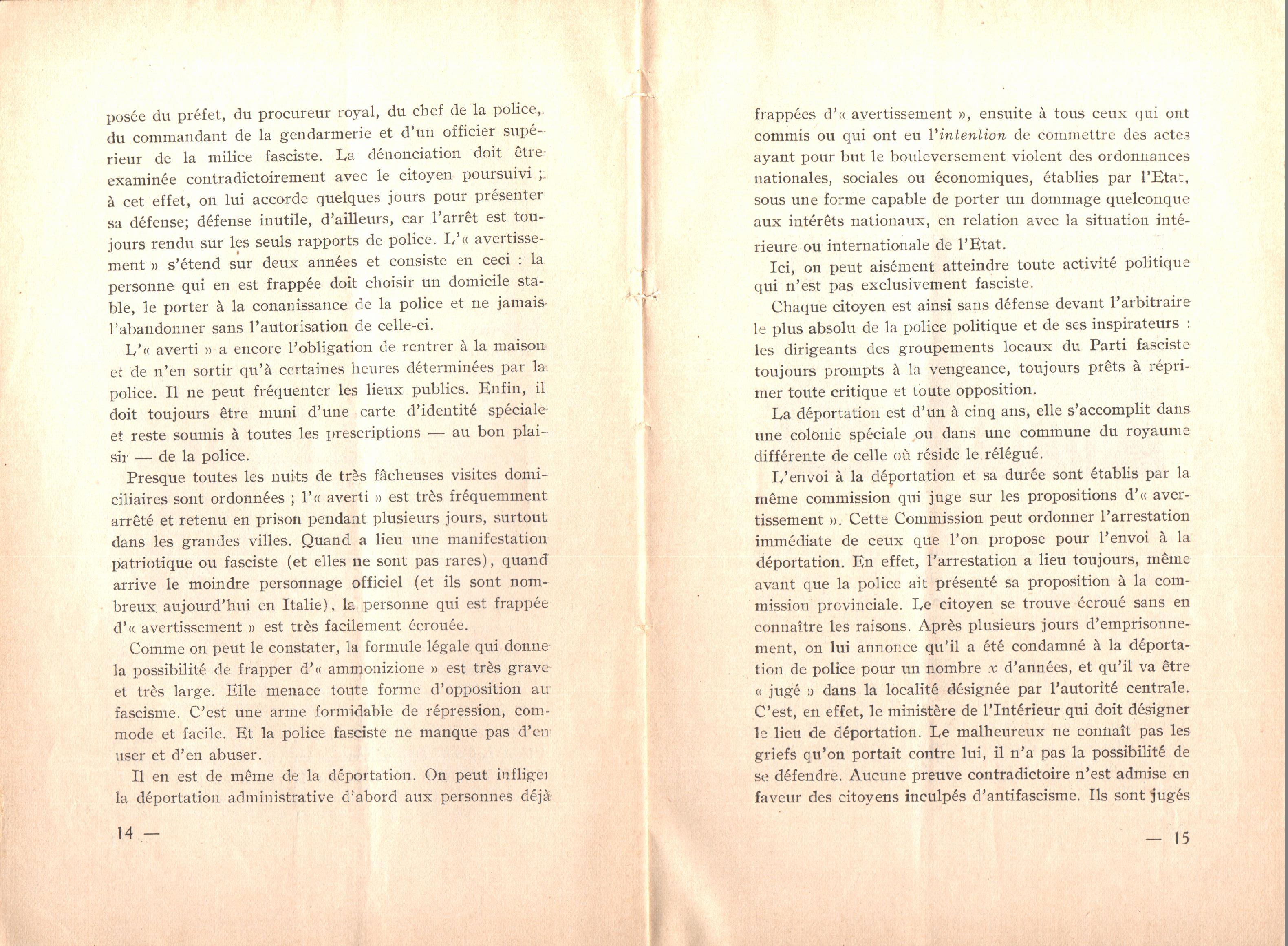 Nicola Cilla, Les «Cayennes» d'Italie - pag. 9
