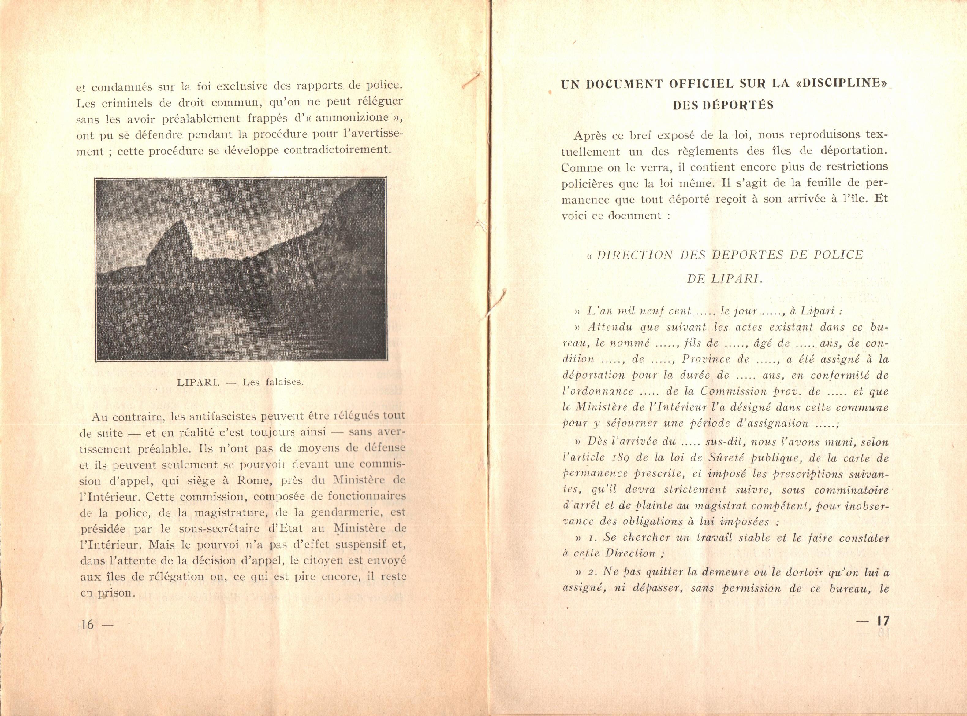 Nicola Cilla, Les «Cayennes» d'Italie - pag. 10
