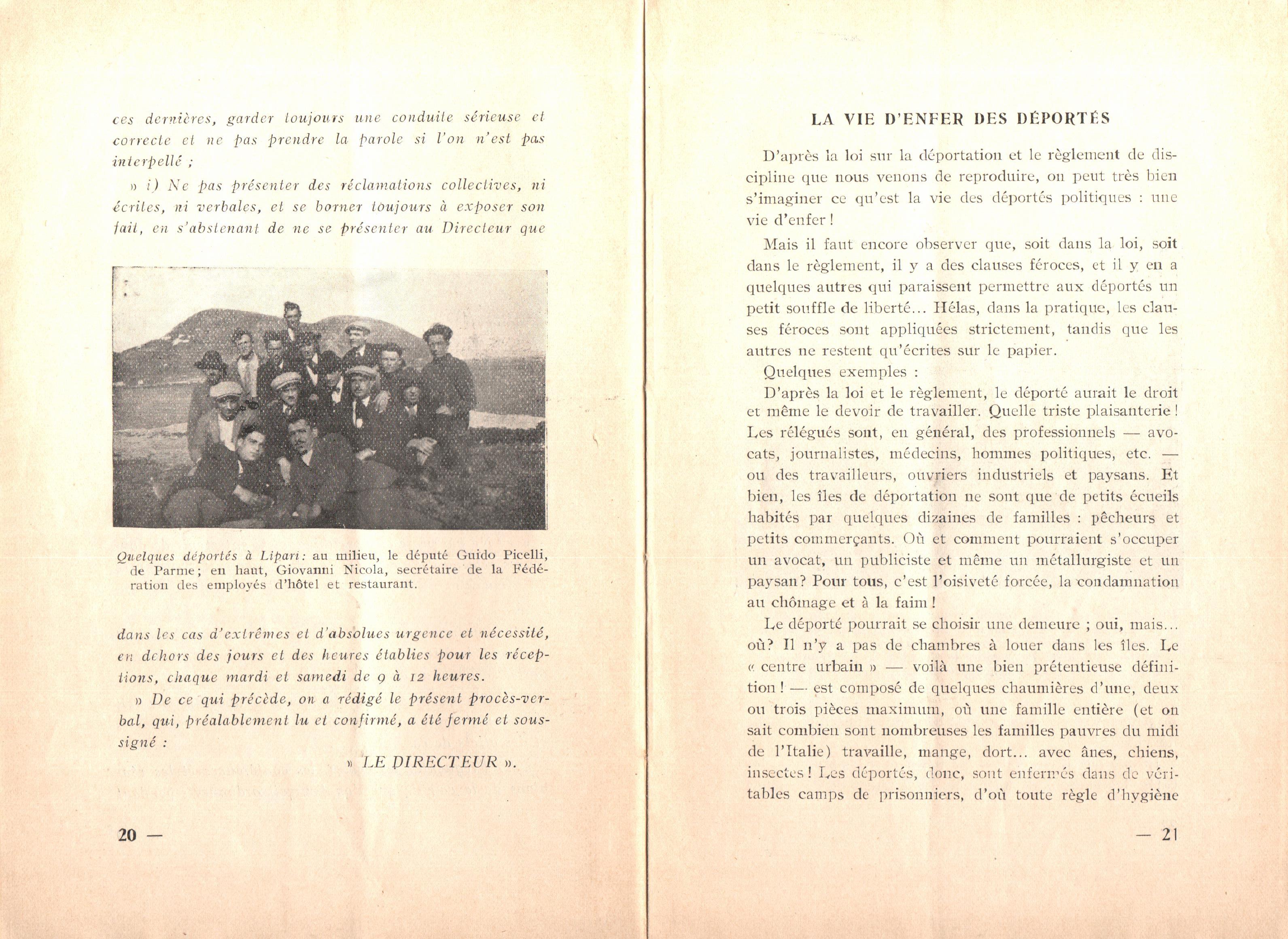 Nicola Cilla, Les «Cayennes» d'Italie - pag. 12