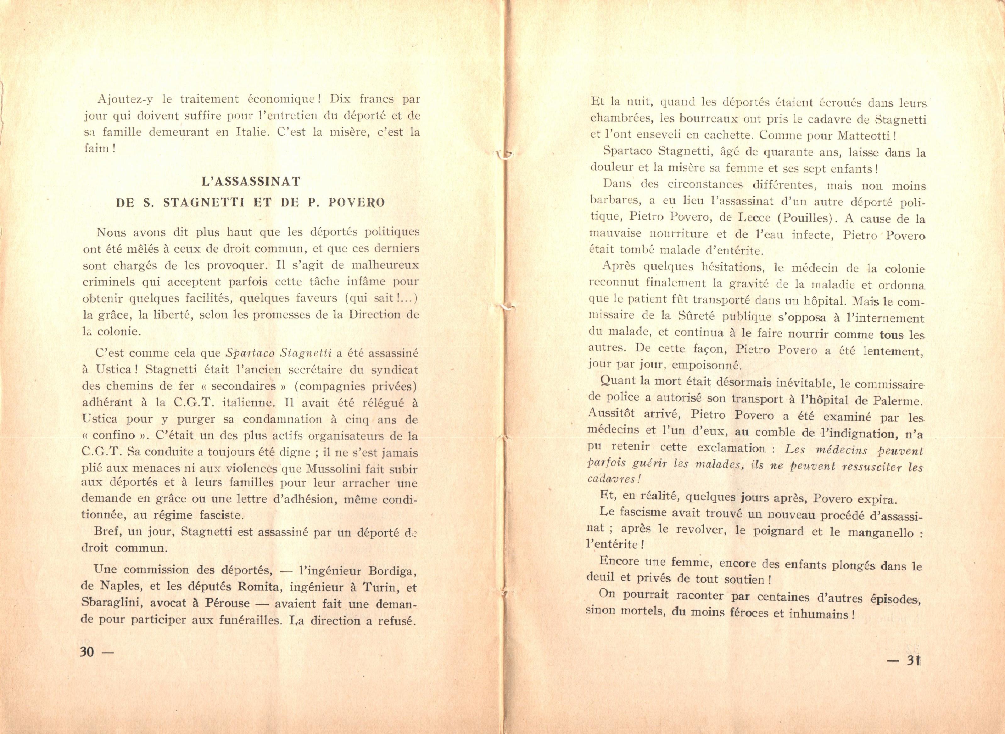 Nicola Cilla, Les «Cayennes» d'Italie - pag. 17