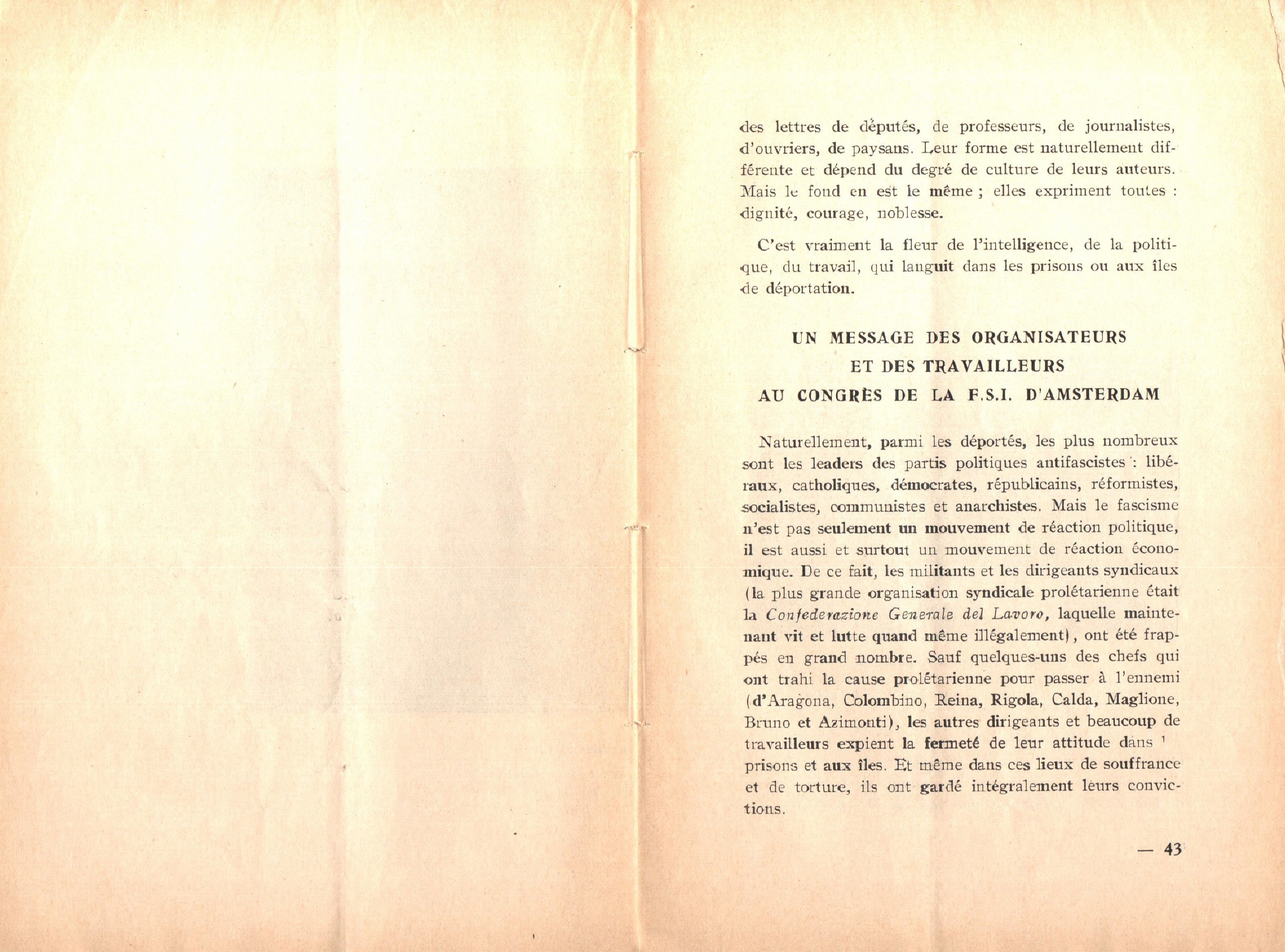 Nicola Cilla, Les «Cayennes» d'Italie - pag. 23