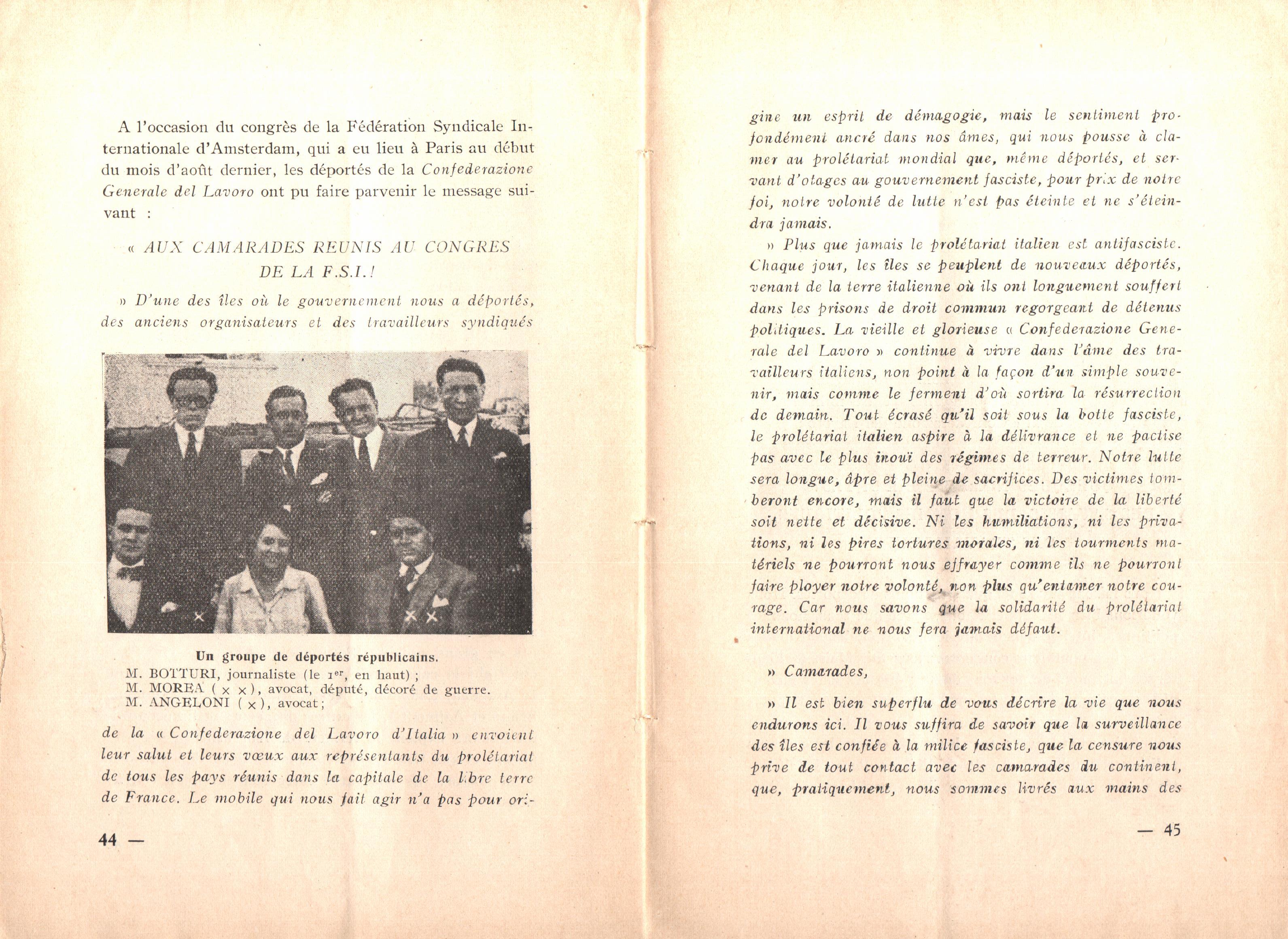 Nicola Cilla, Les «Cayennes» d'Italie - pag. 24