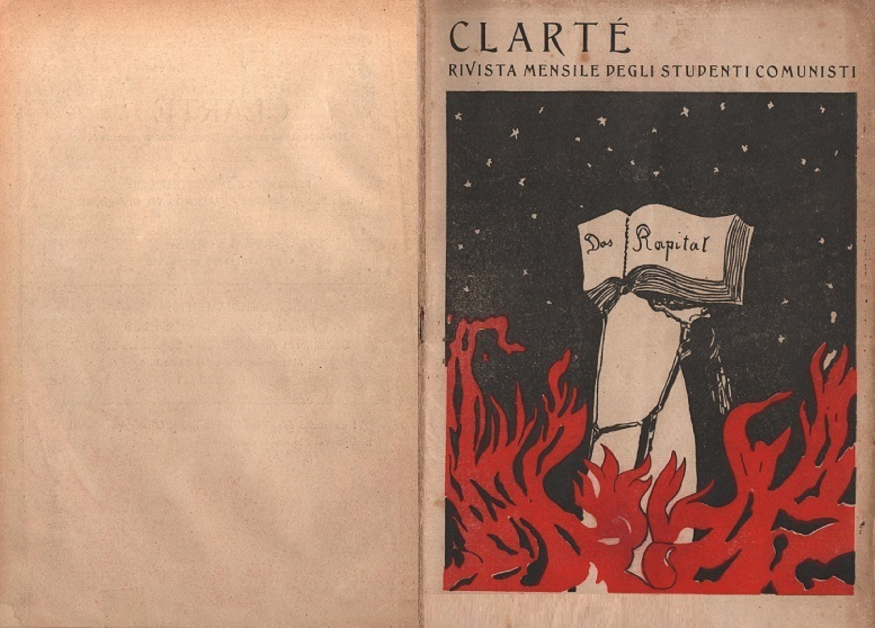 Clarté. Rivista mensile degli studenti comunisti (a. I, n. 2, Palermo, 15 giugno 1920) - pag. 1
