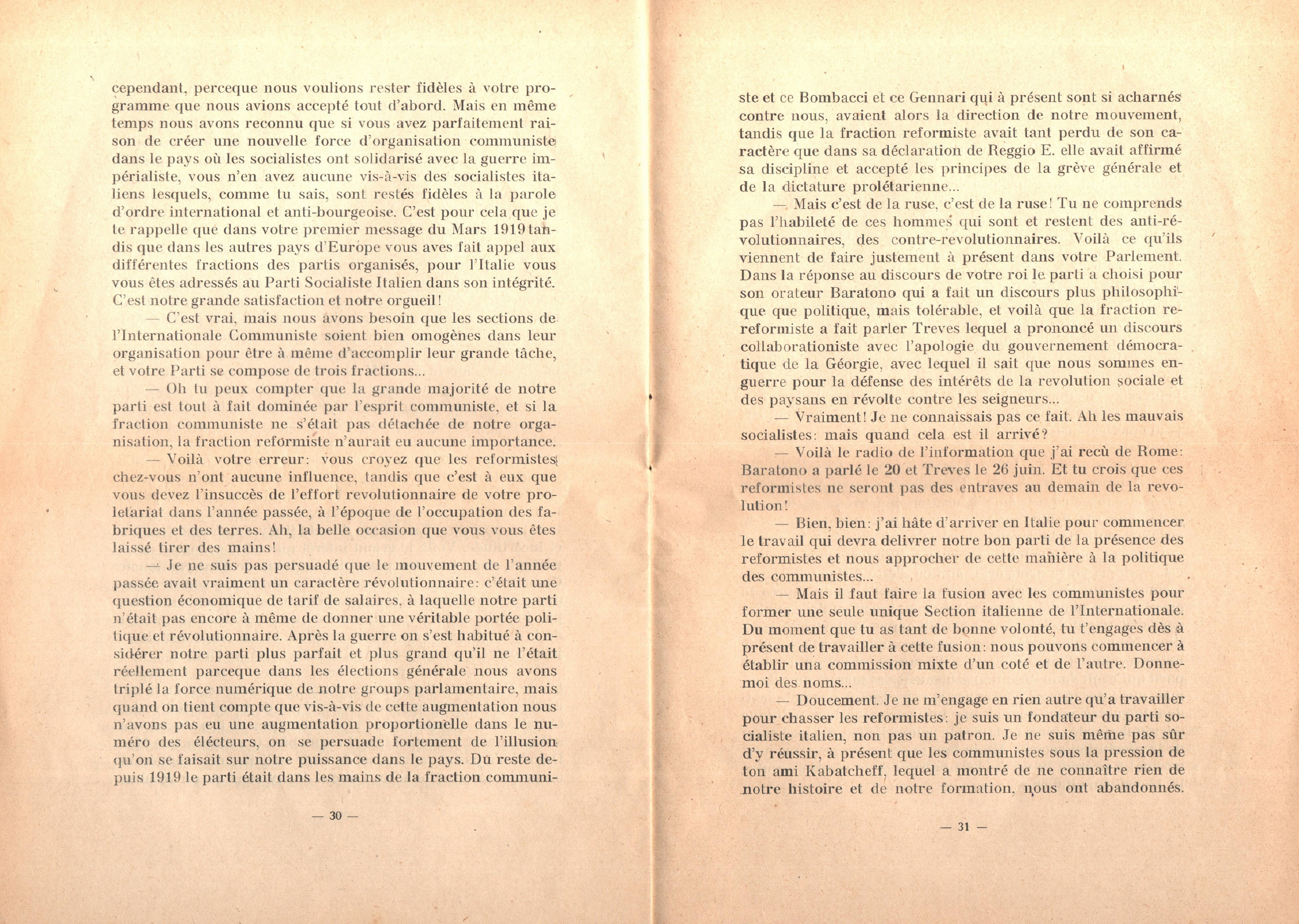 C. Lazzari, Il mio ultimo colloquio con Nicola Lenin - pag. 17