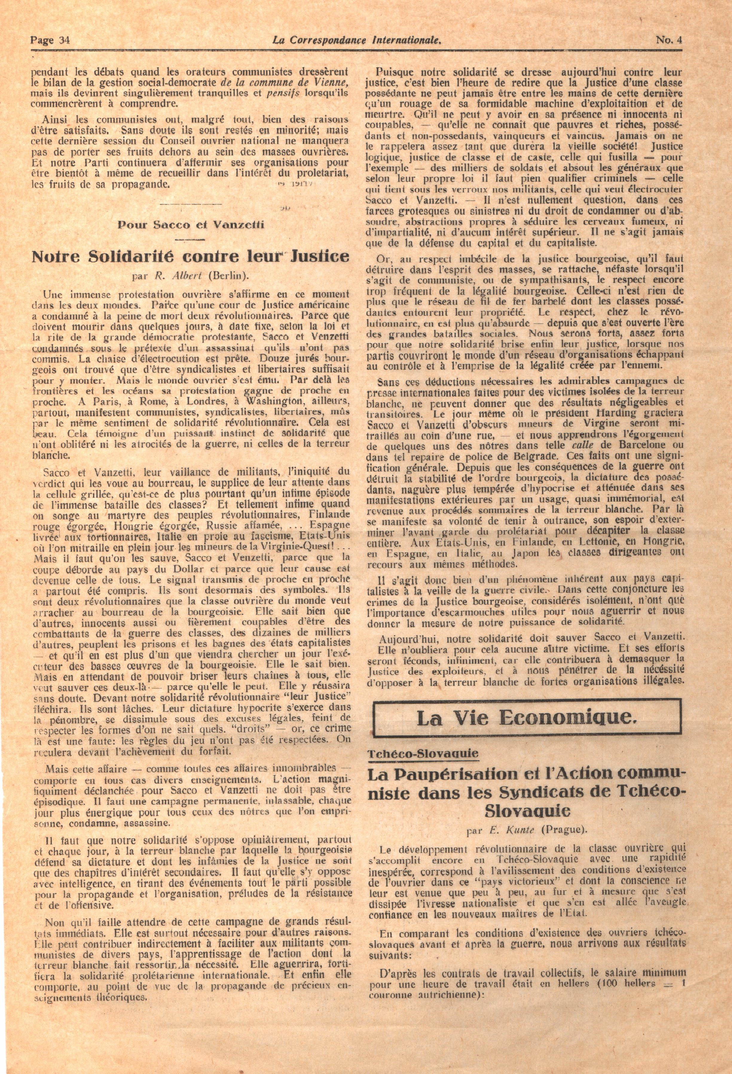 Correspondance Internationale n. 4 - pag. 6