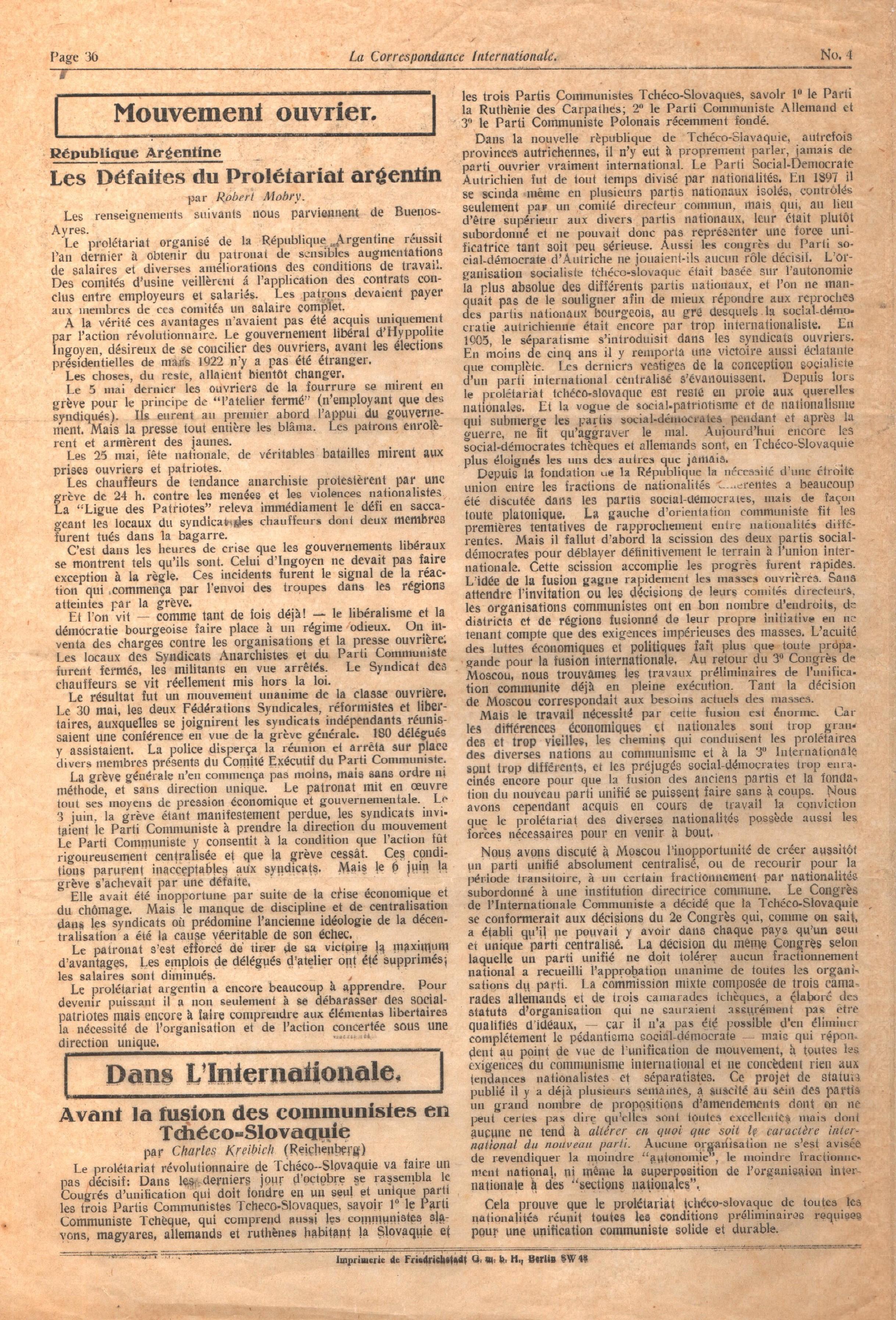 Correspondance Internationale n. 4 - pag. 8