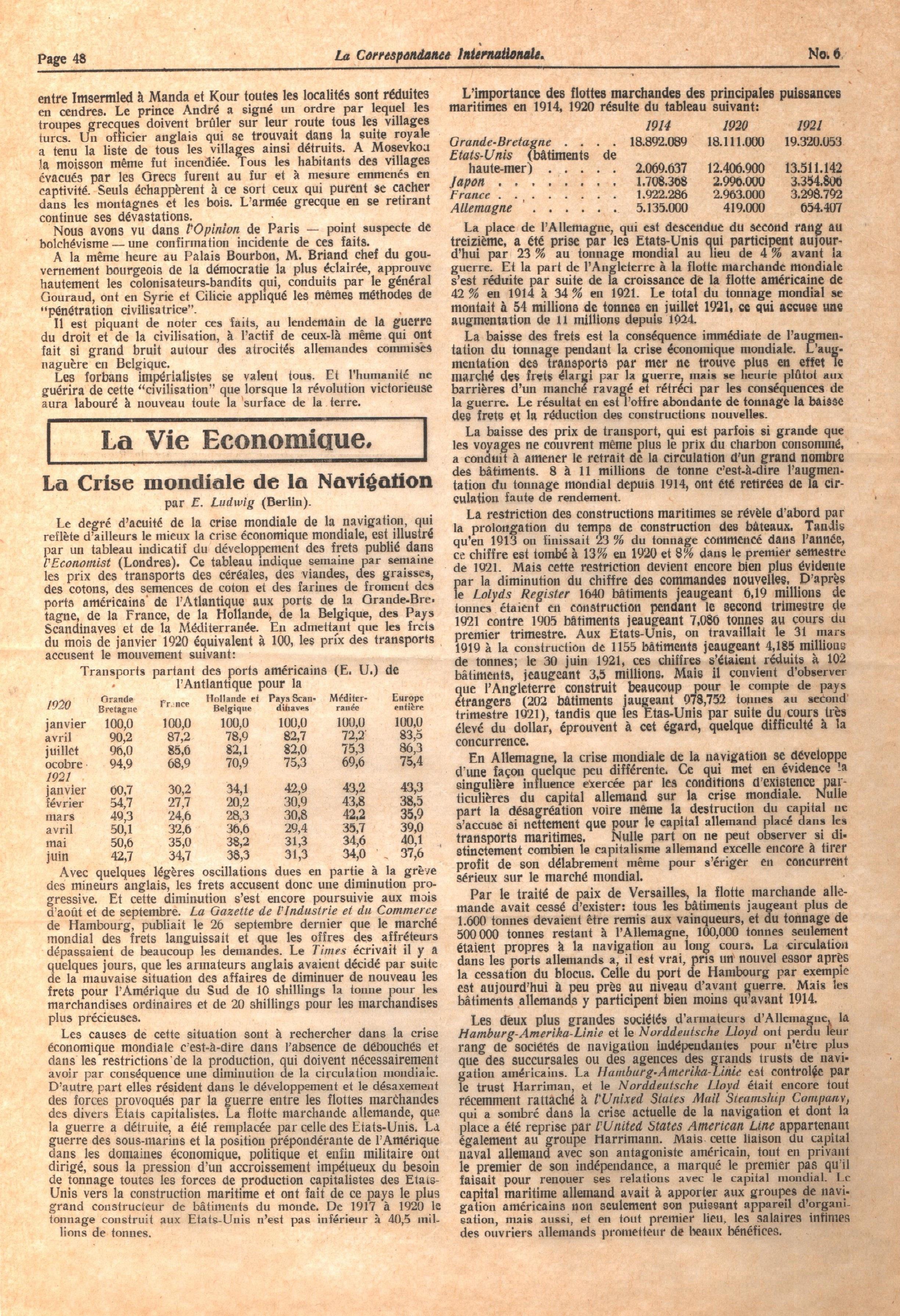 Correspondance Internationale n.6 - pag. 4