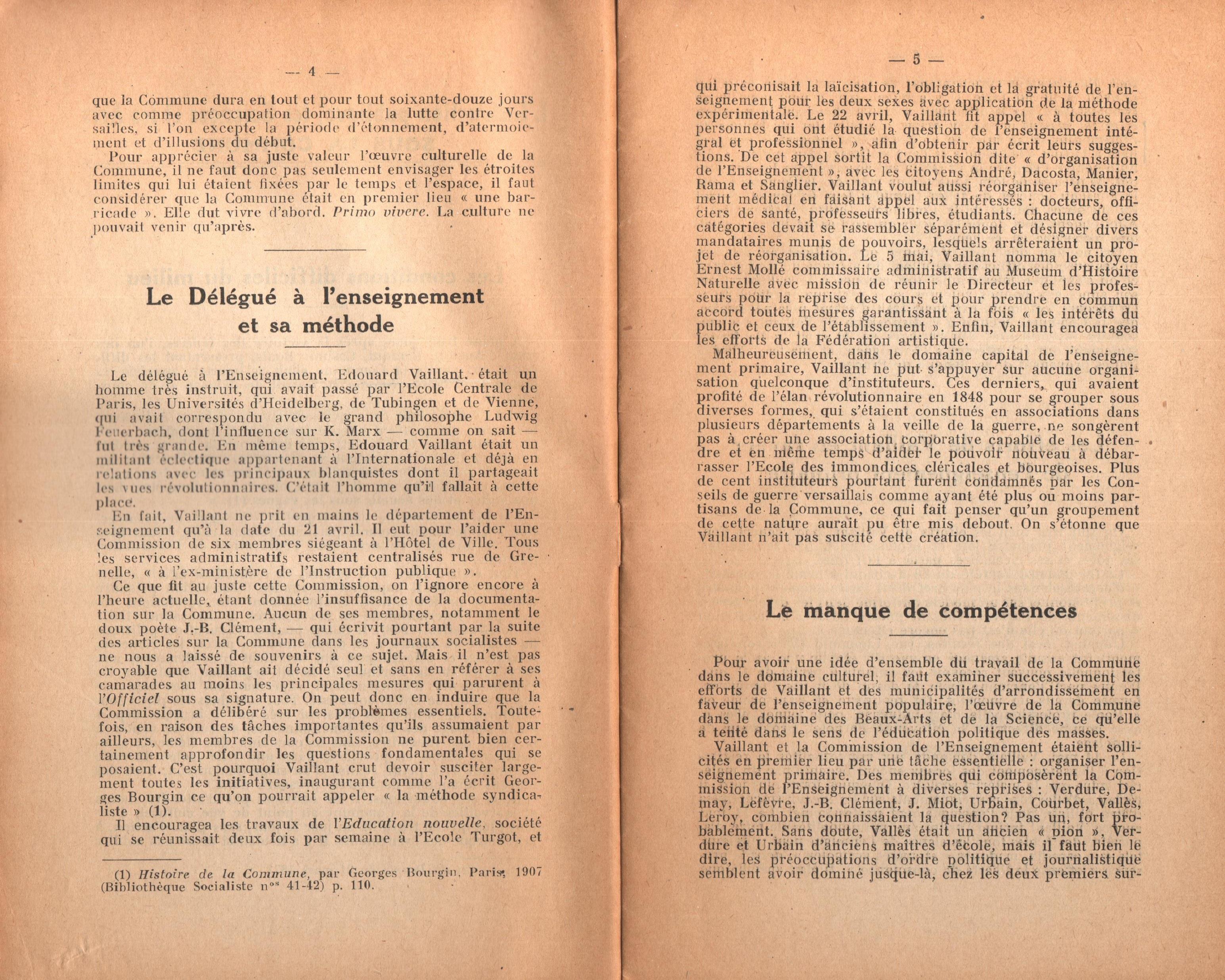 Maurice Dommanget, L'instruction publique sous la Commune - pag. 04