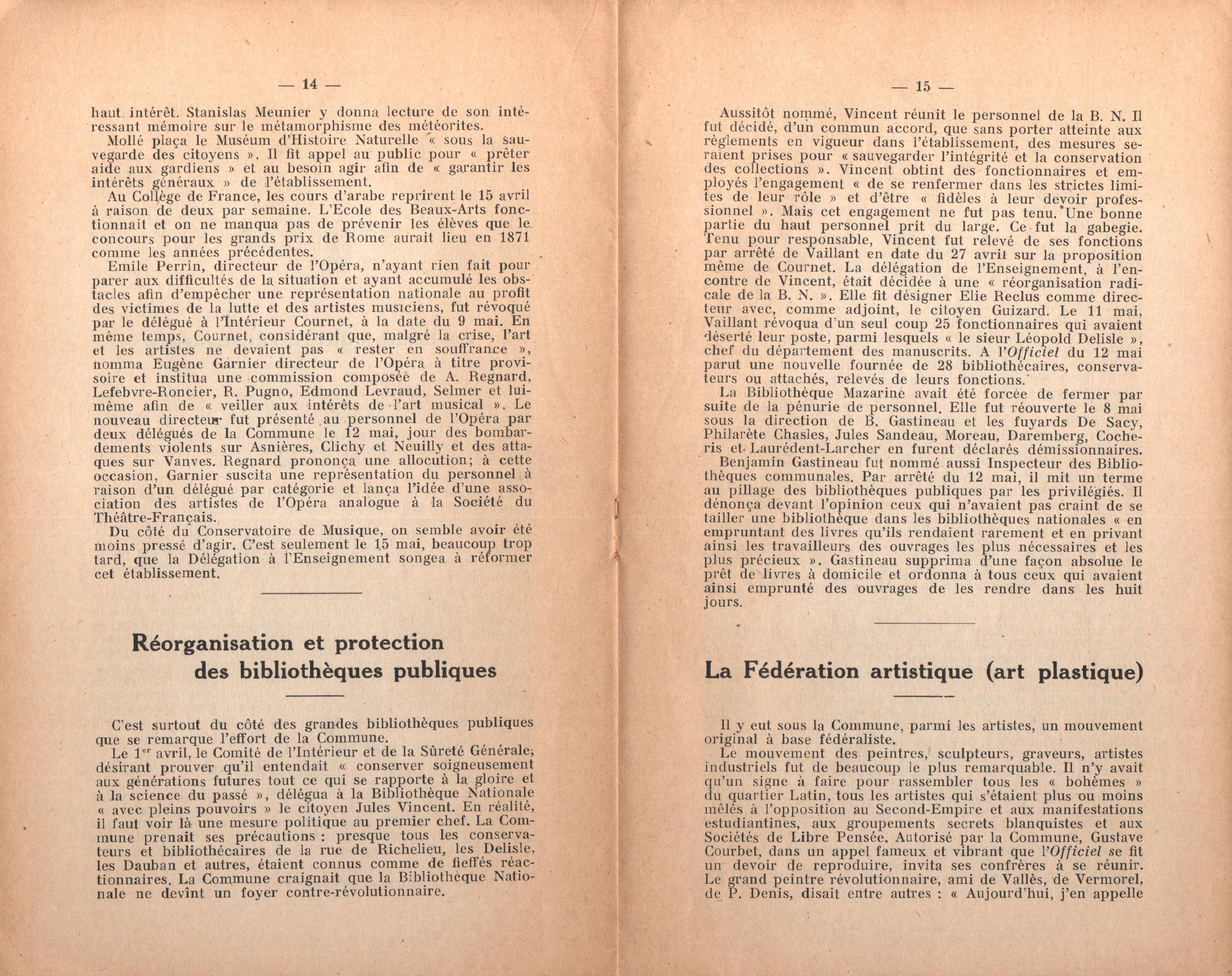 Maurice Dommanget, L'instruction publique sous la Commune - pag. 09