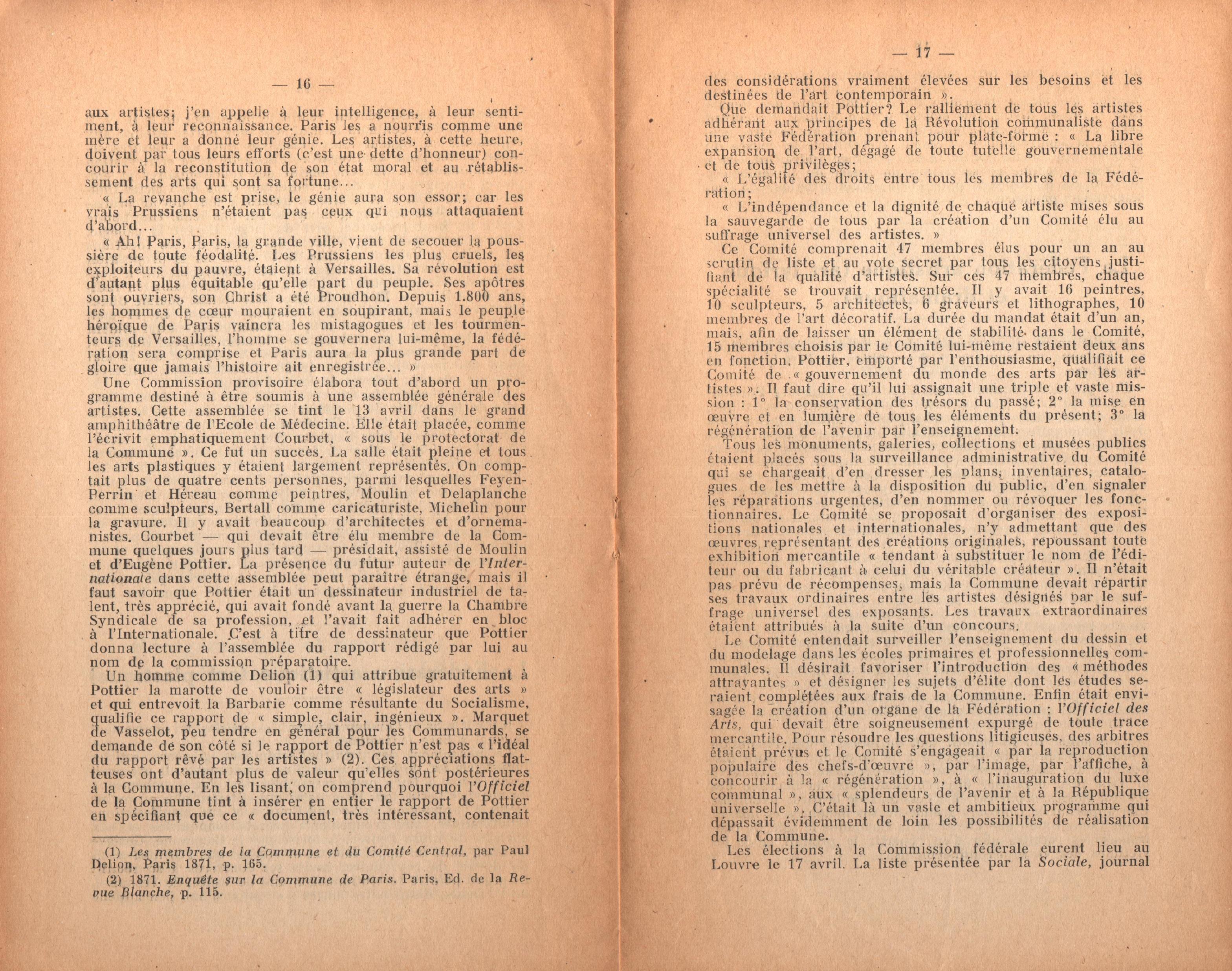 Maurice Dommanget, L'instruction publique sous la Commune - pag. 10