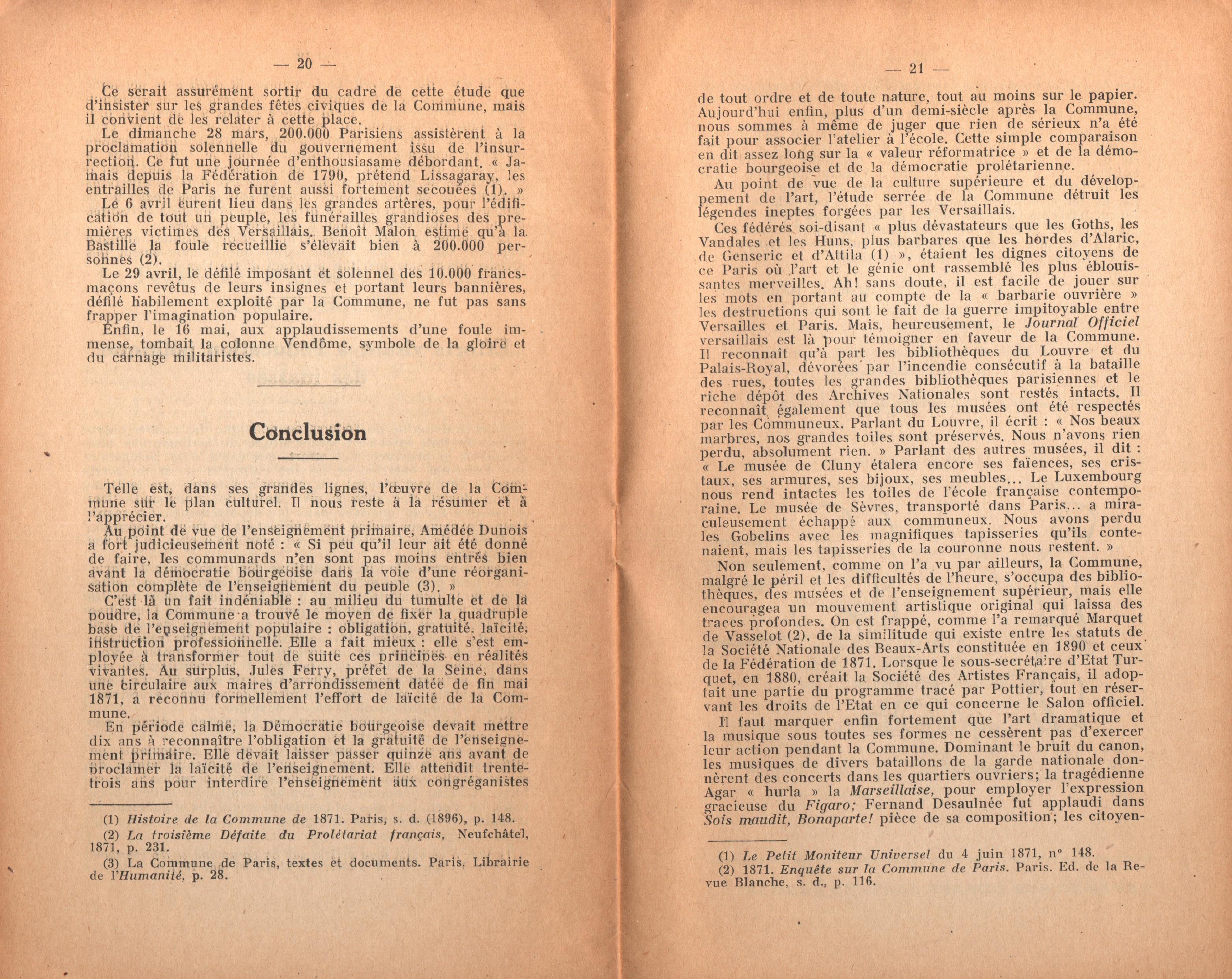 Maurice Dommanget, L'instruction publique sous la Commune - pag. 12