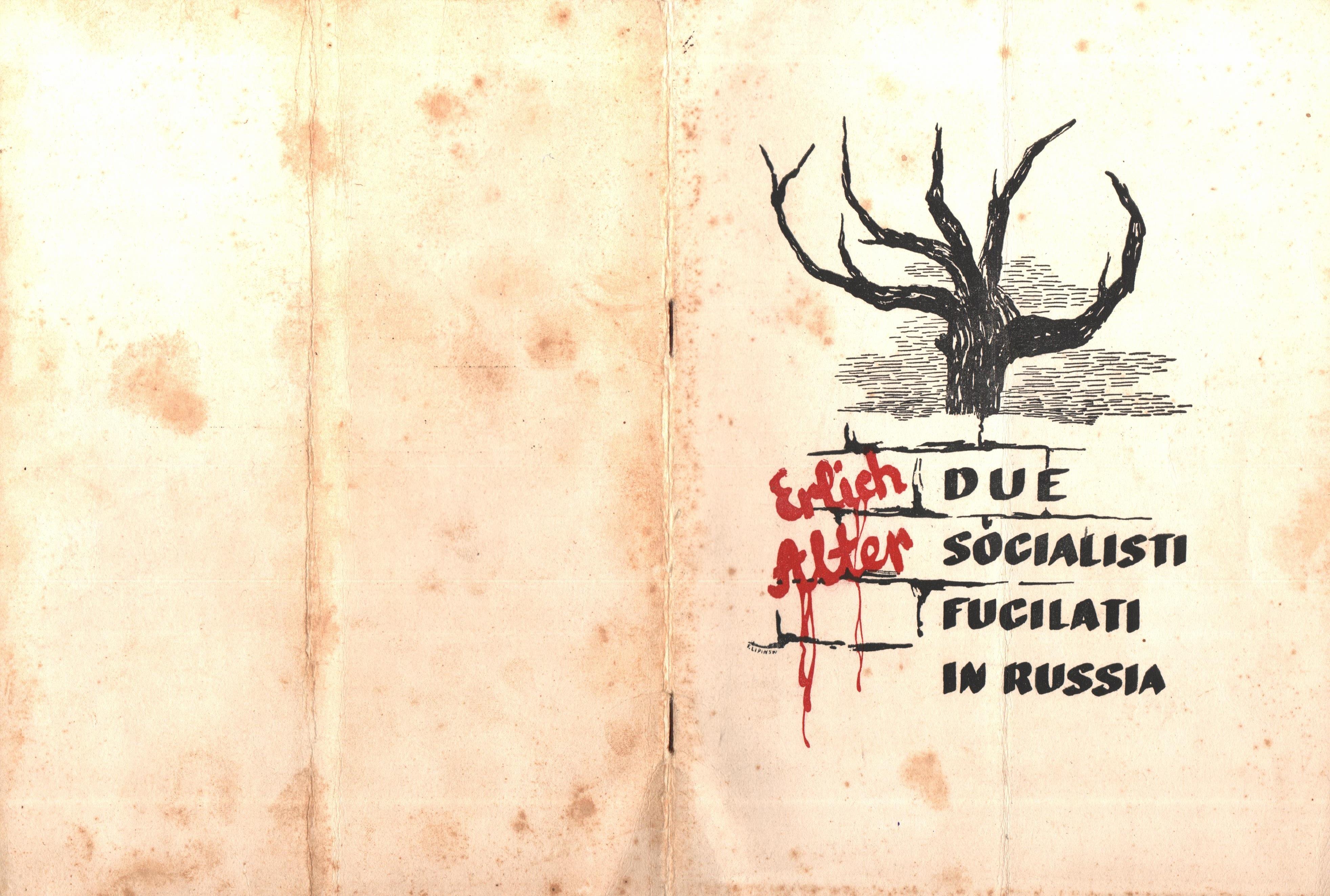 Due socialisti fucilati in Russia - pag. 01