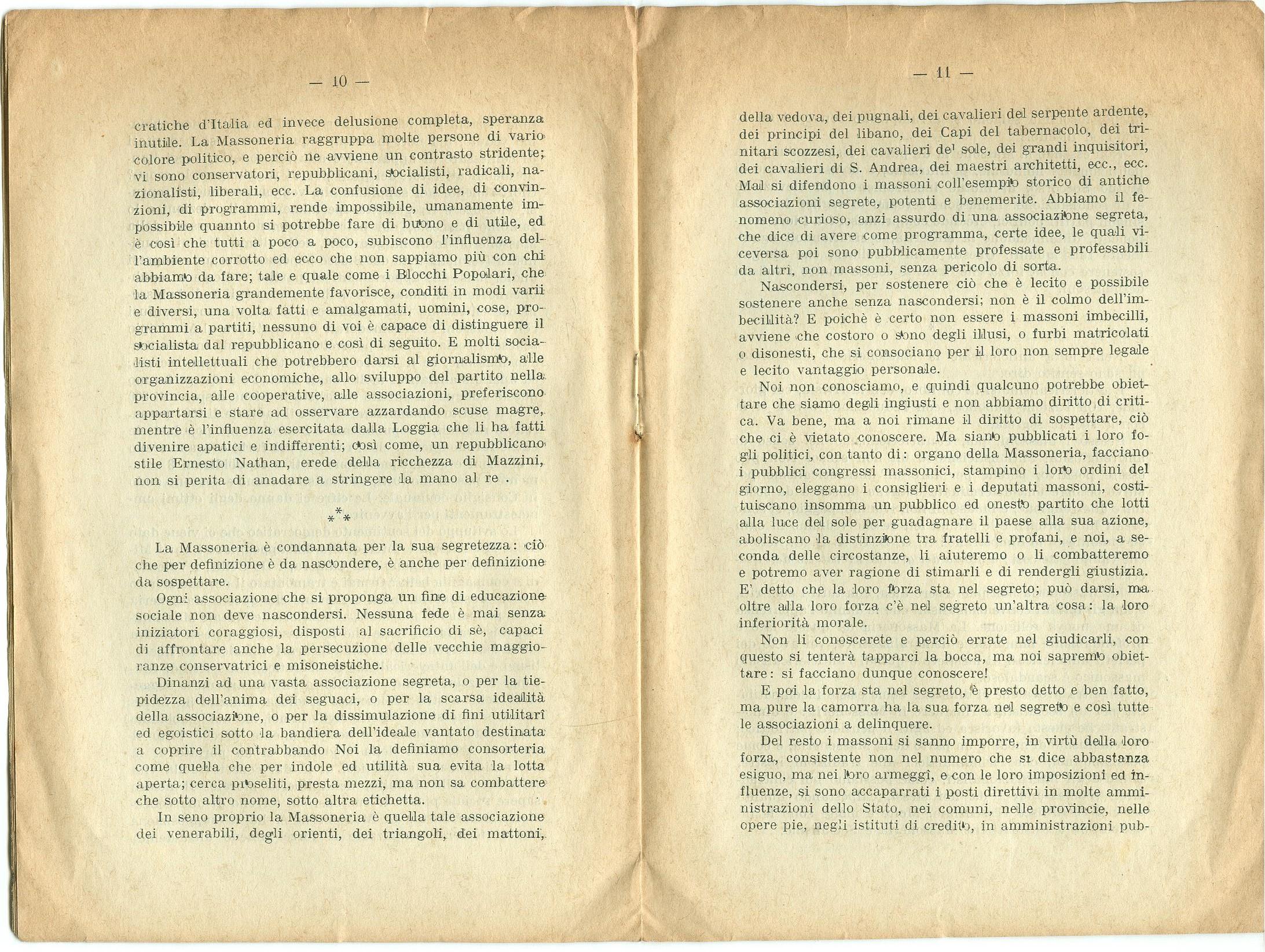 Guido Feroci, Socialismo e Massoneria (1910) - pag. 7