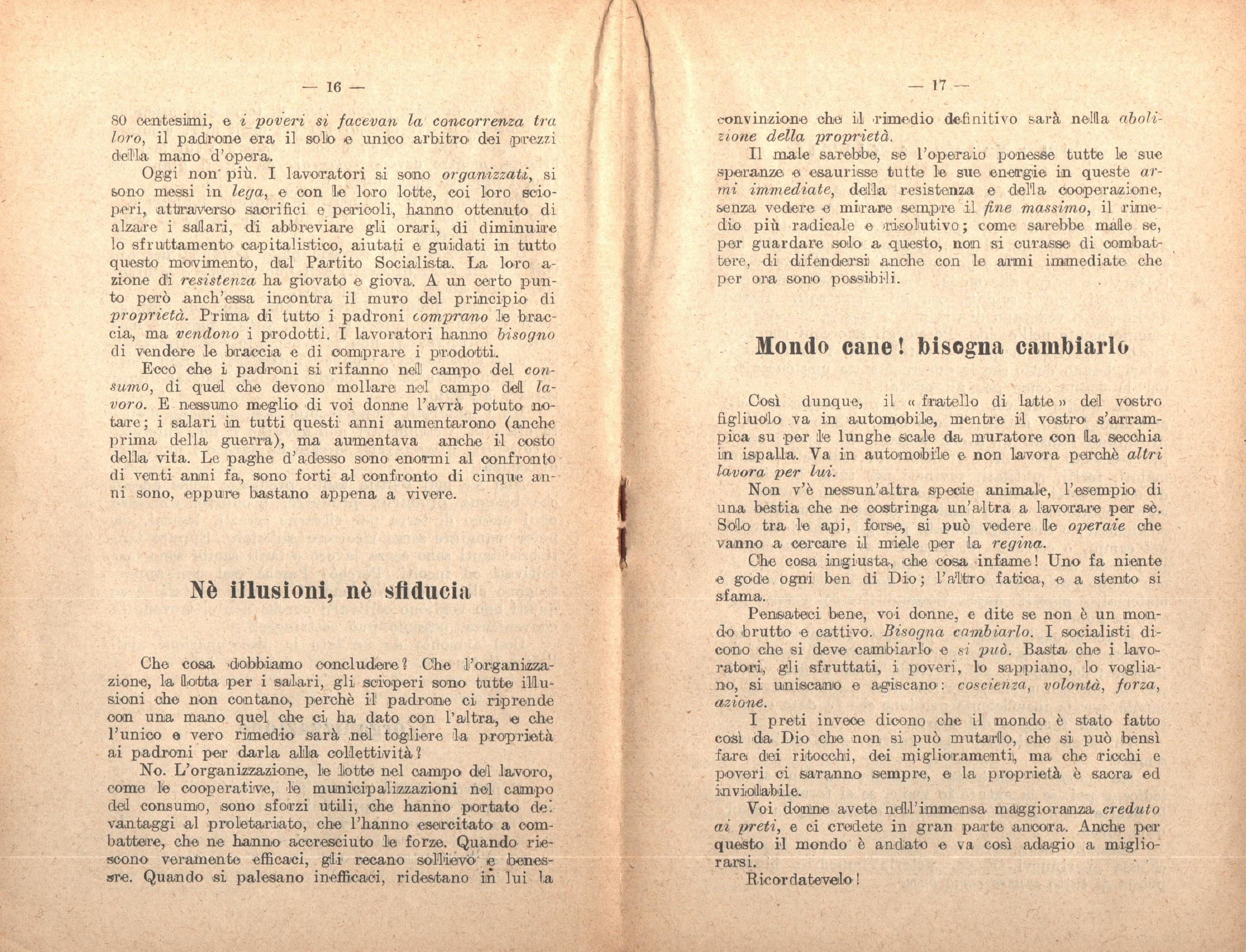 G. Zibordi, Alle donne - pag. 10