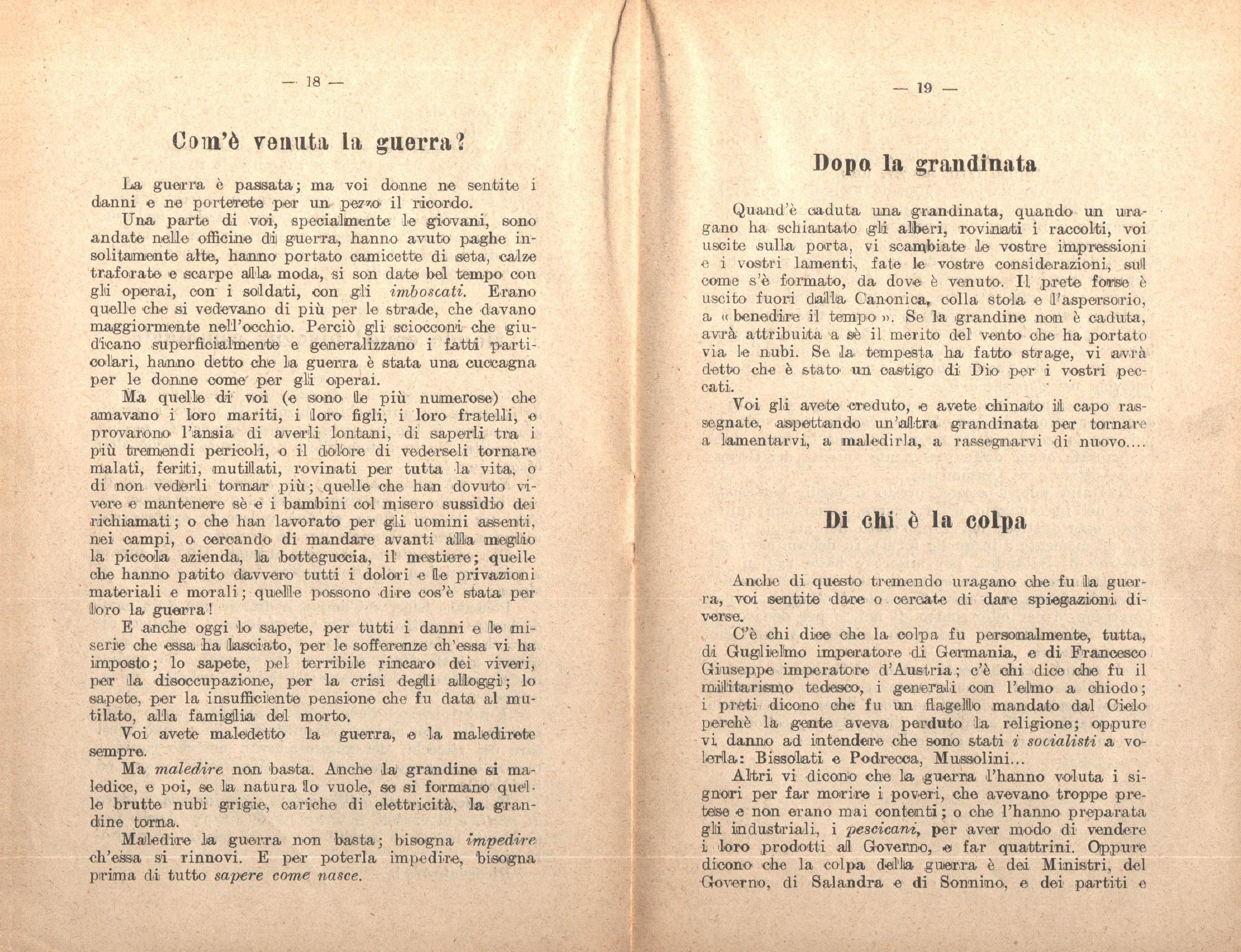 G. Zibordi, Alle donne - pag. 11