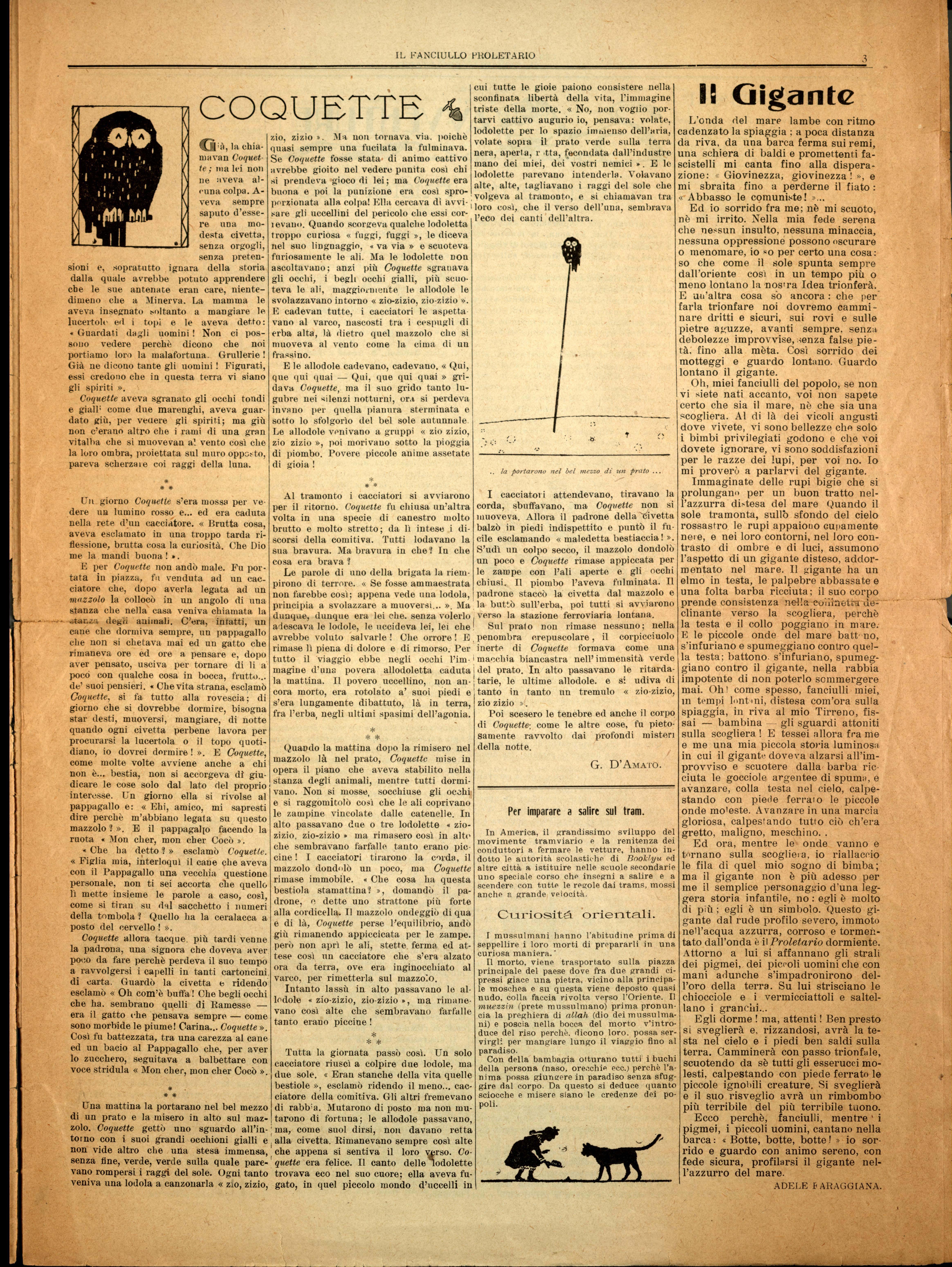 Il Fanciullo Proletario n. 1 (settembre 1922) - pag. 3