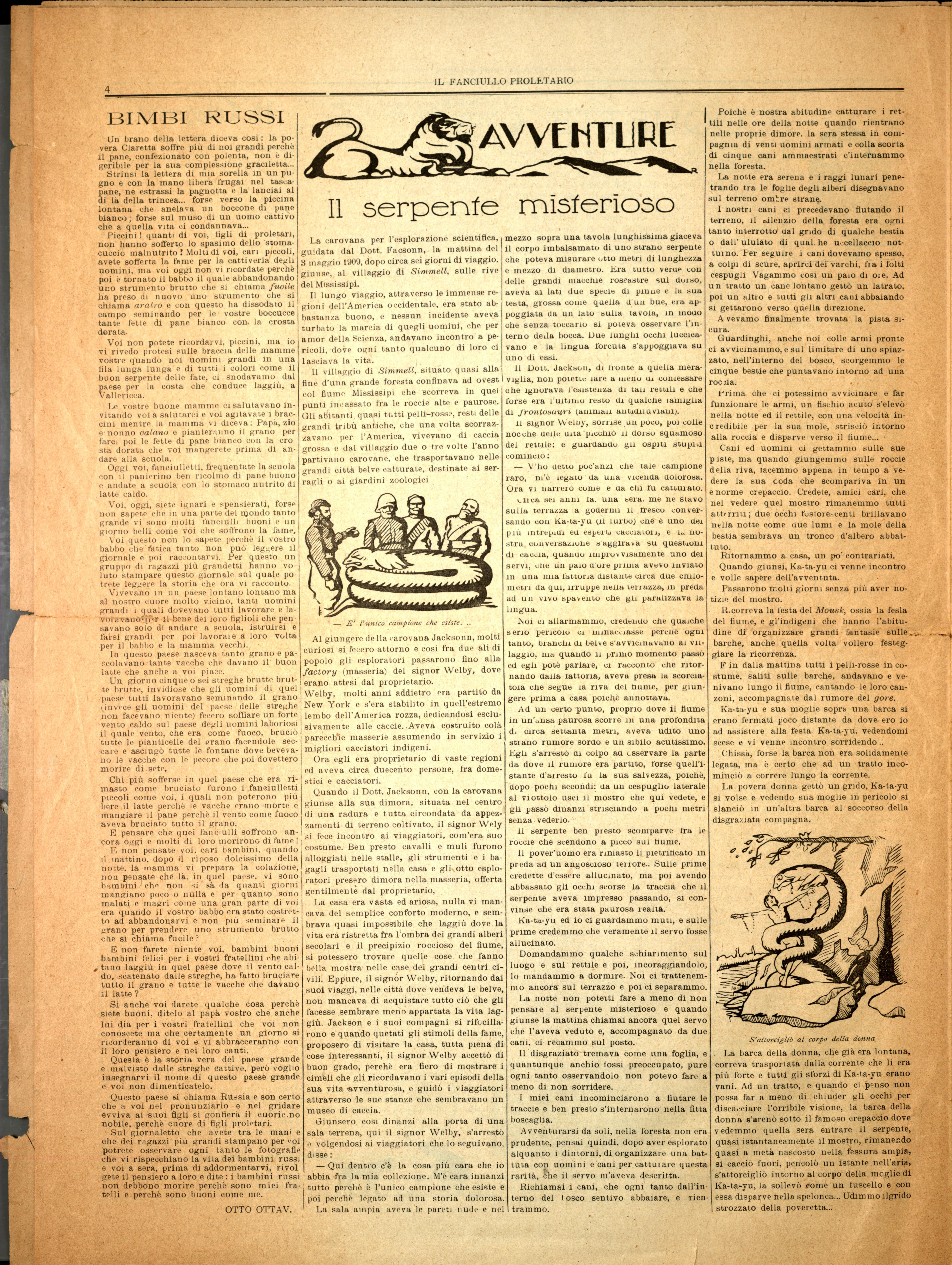 Il Fanciullo Proletario n. 1 (settembre 1922) - pag. 4