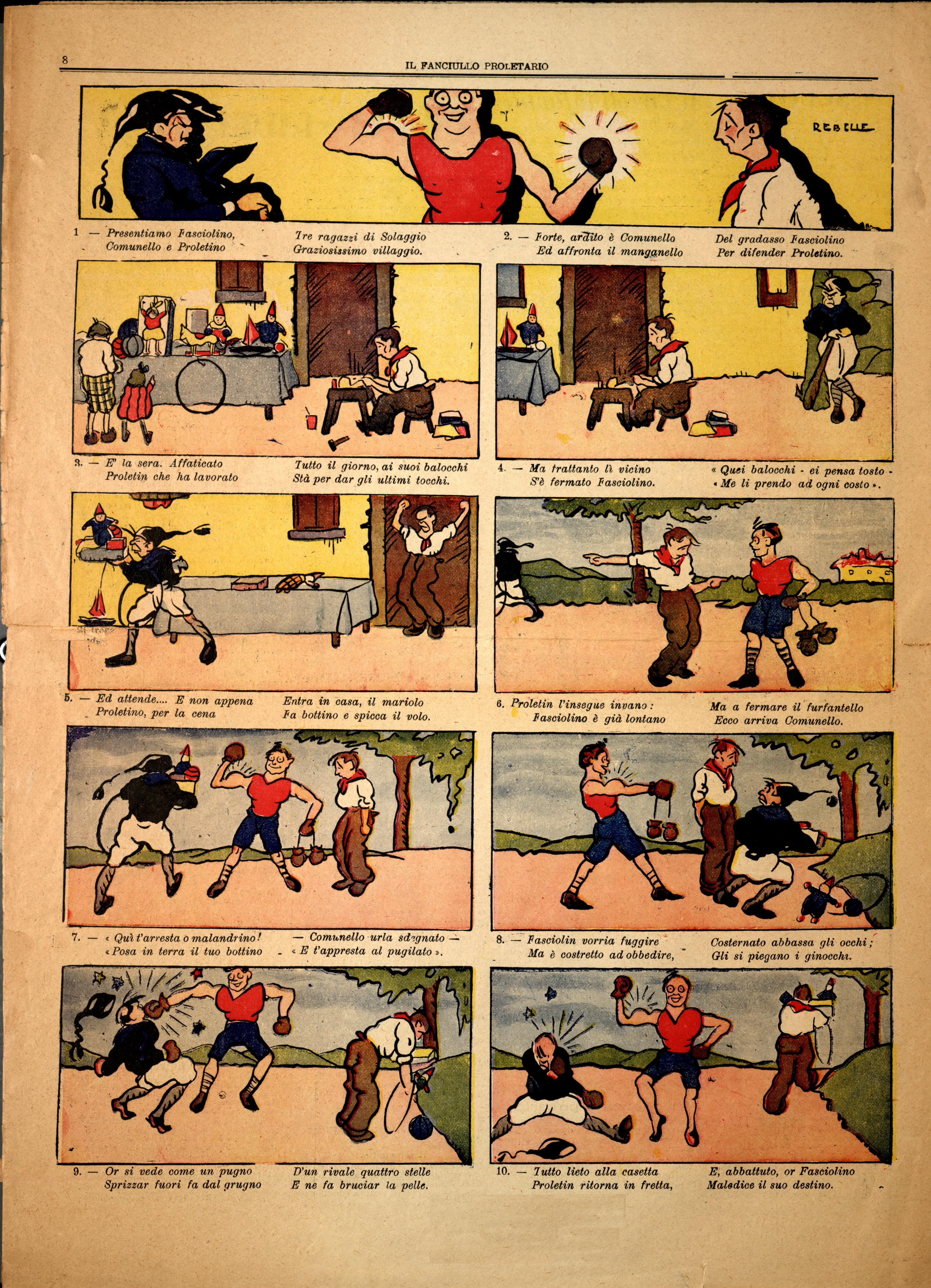 Il Fanciullo Proletario n. 1 (settembre 1922) - pag. 8