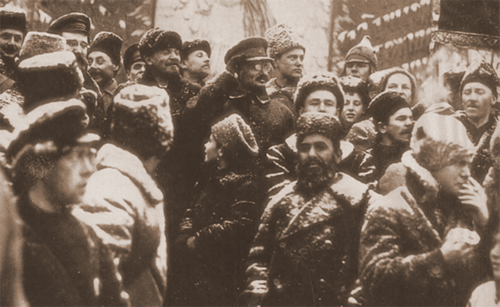 Trotsky e Lenin