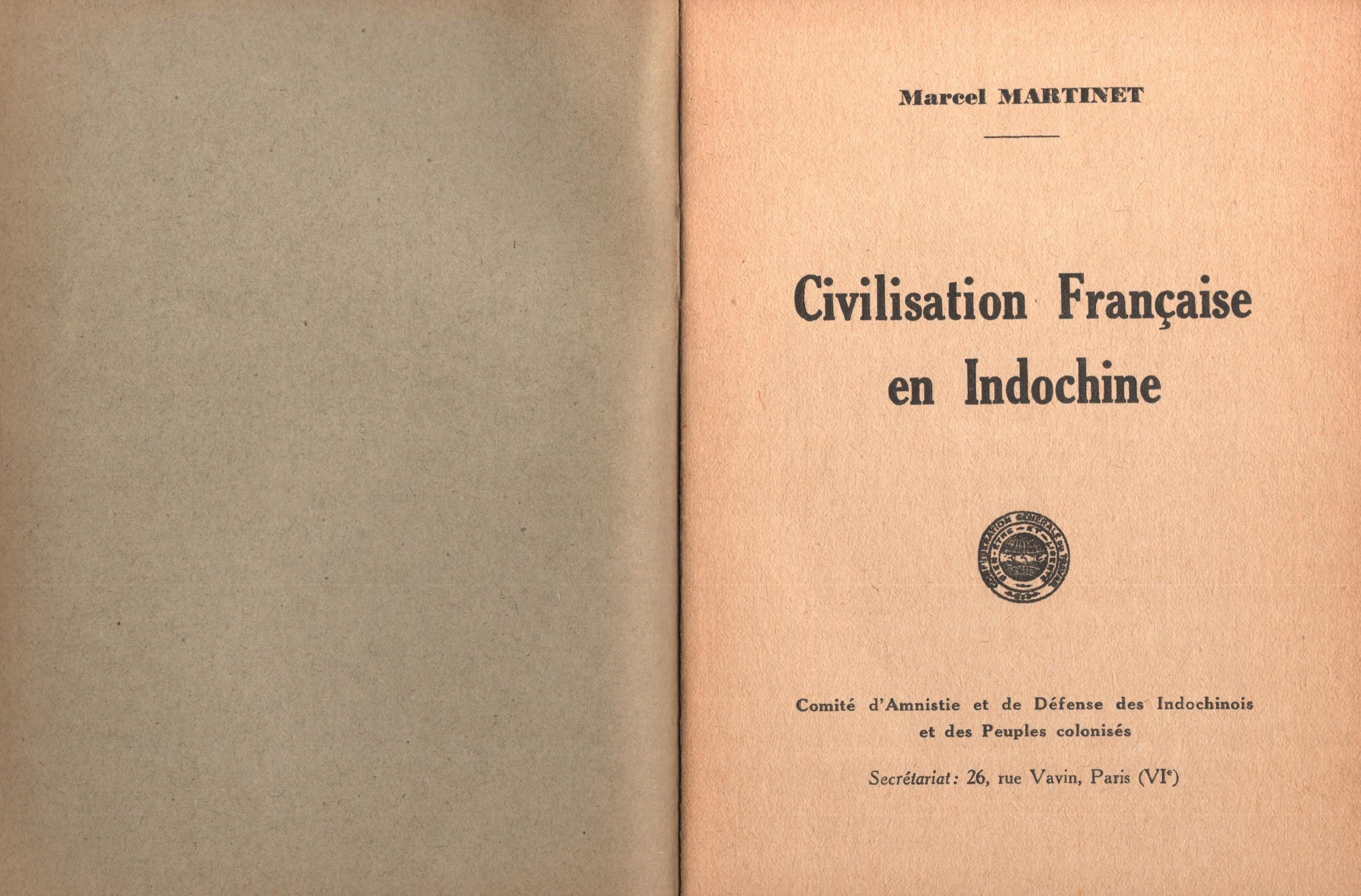 Marcel Martinet, Civilisation française en Indochine - pag. 2