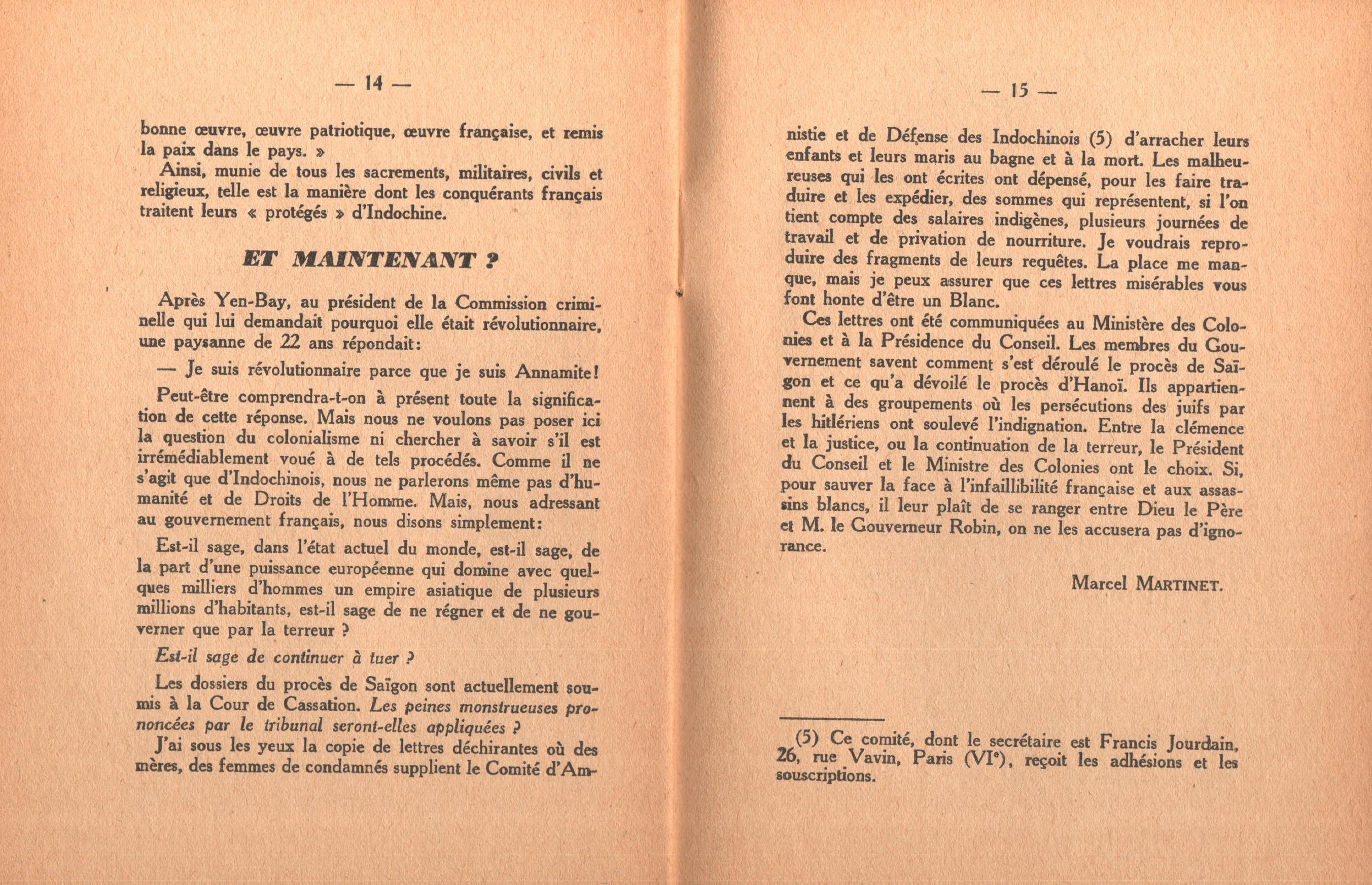 Marcel Martinet, Civilisation française en Indochine - pag. 9