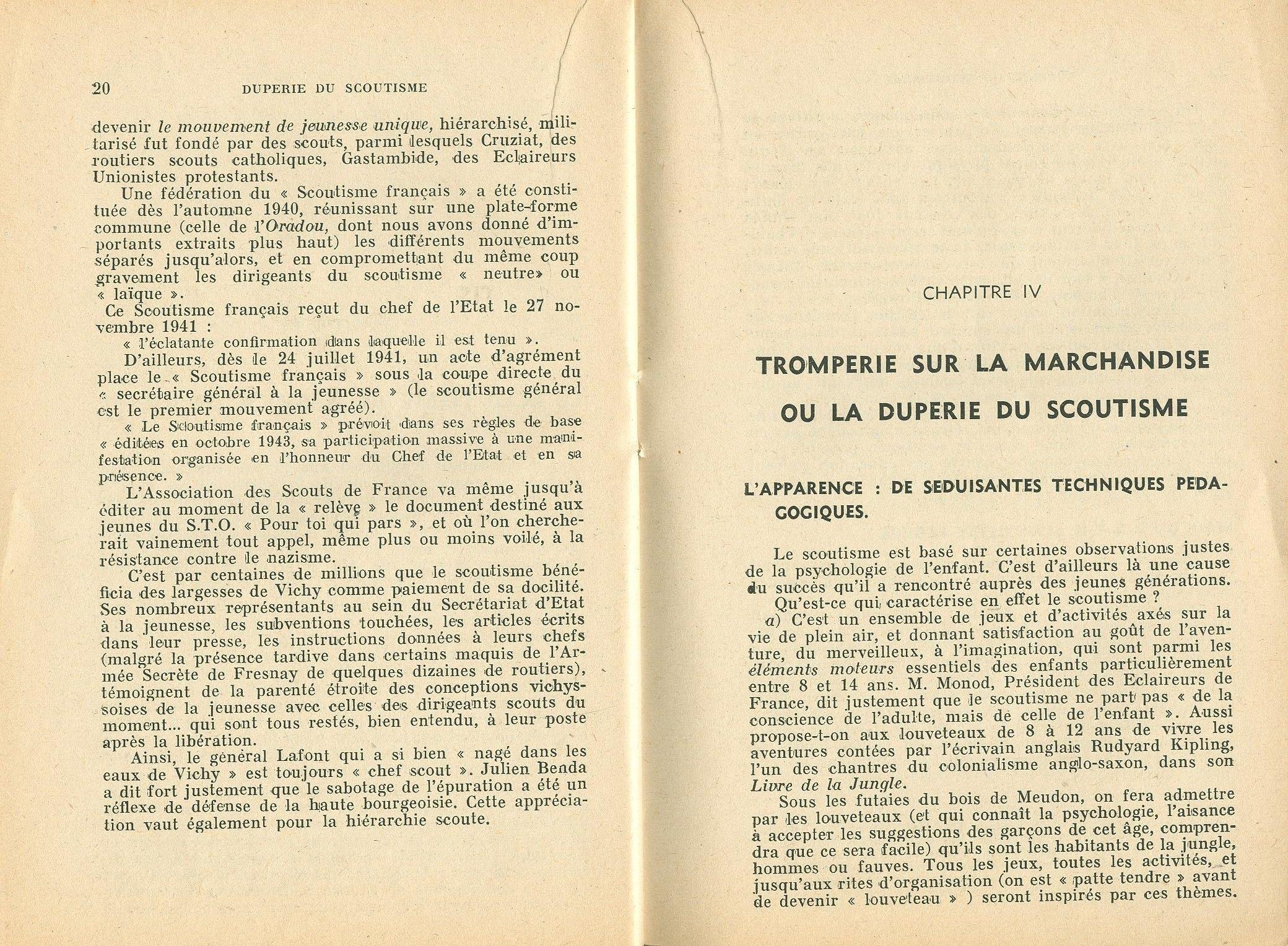 La duperie du scoutisme - pag. 12