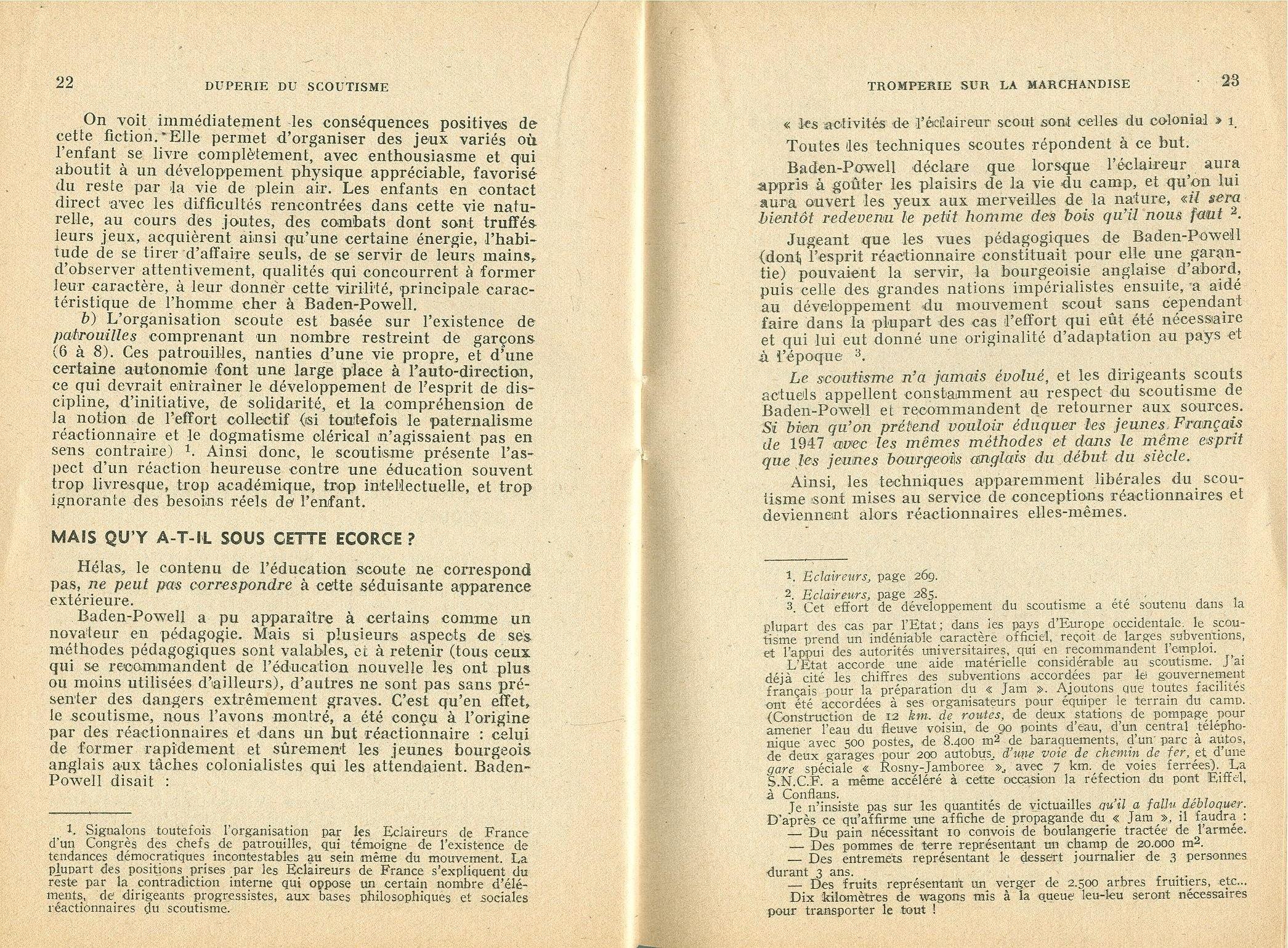 La duperie du scoutisme - pag. 13