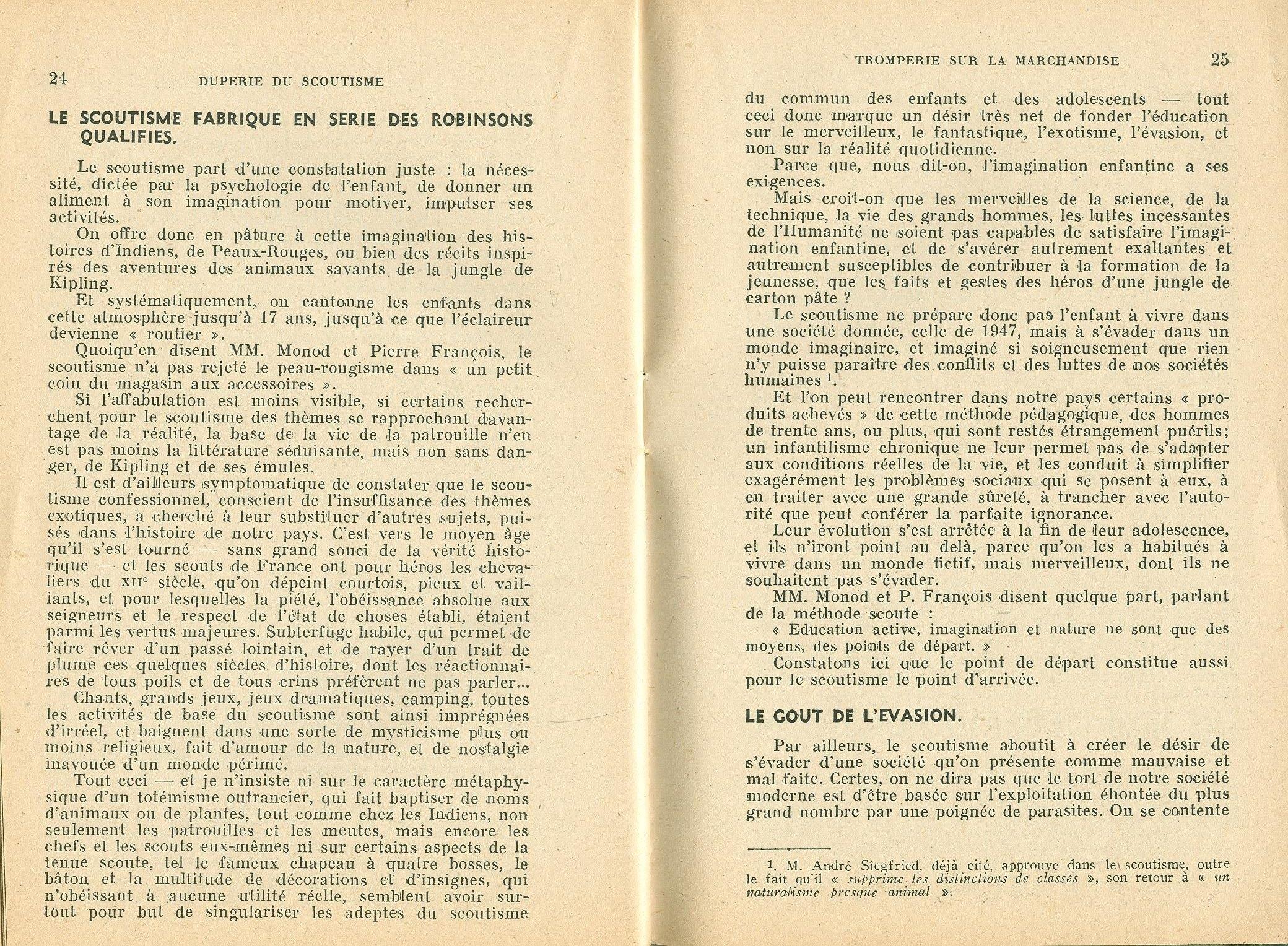La duperie du scoutisme - pag. 14